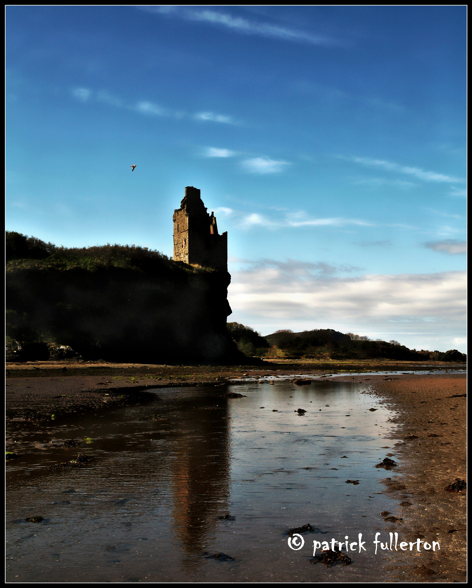 Greenan Castle by patrickfullerton