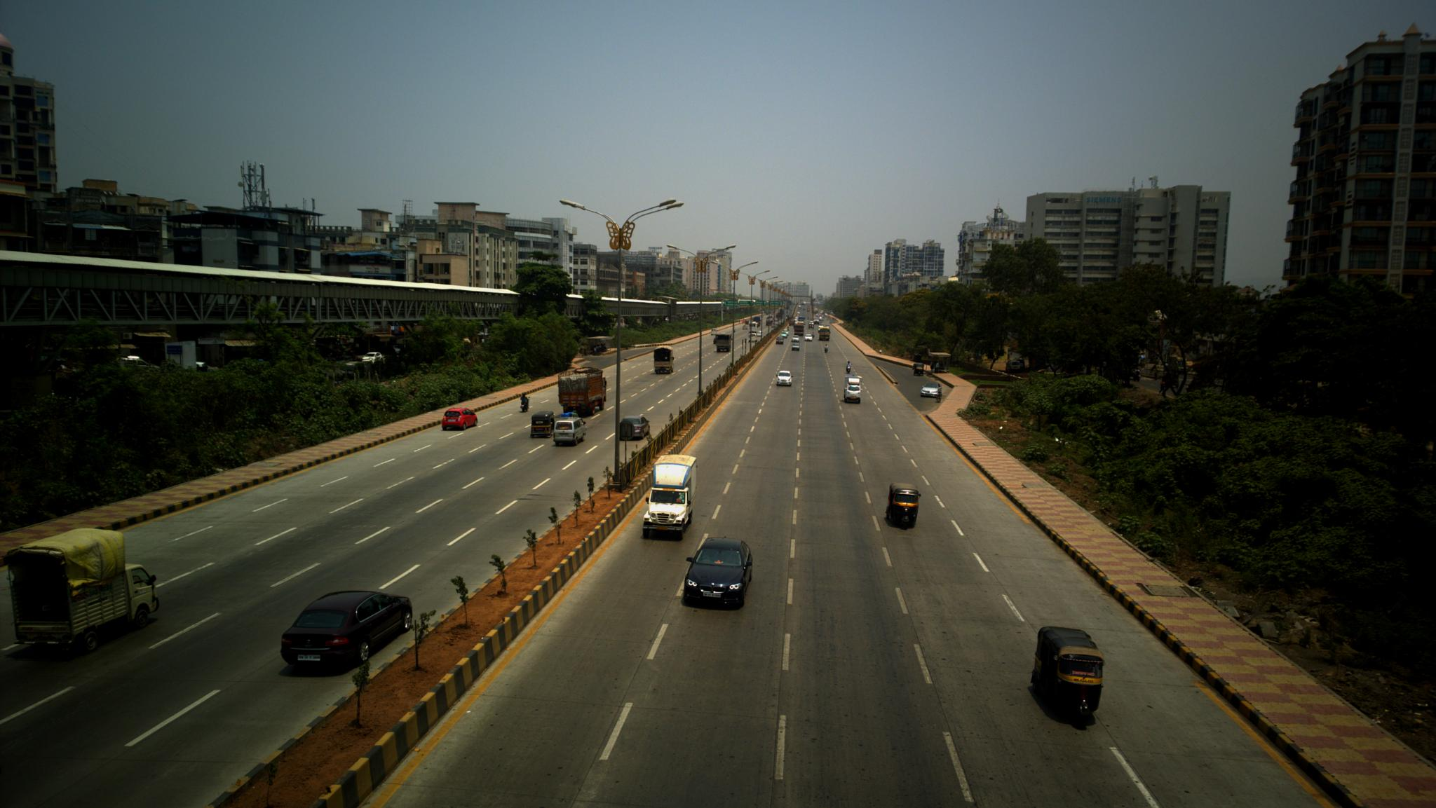 City and Highway by Sanket Joshi