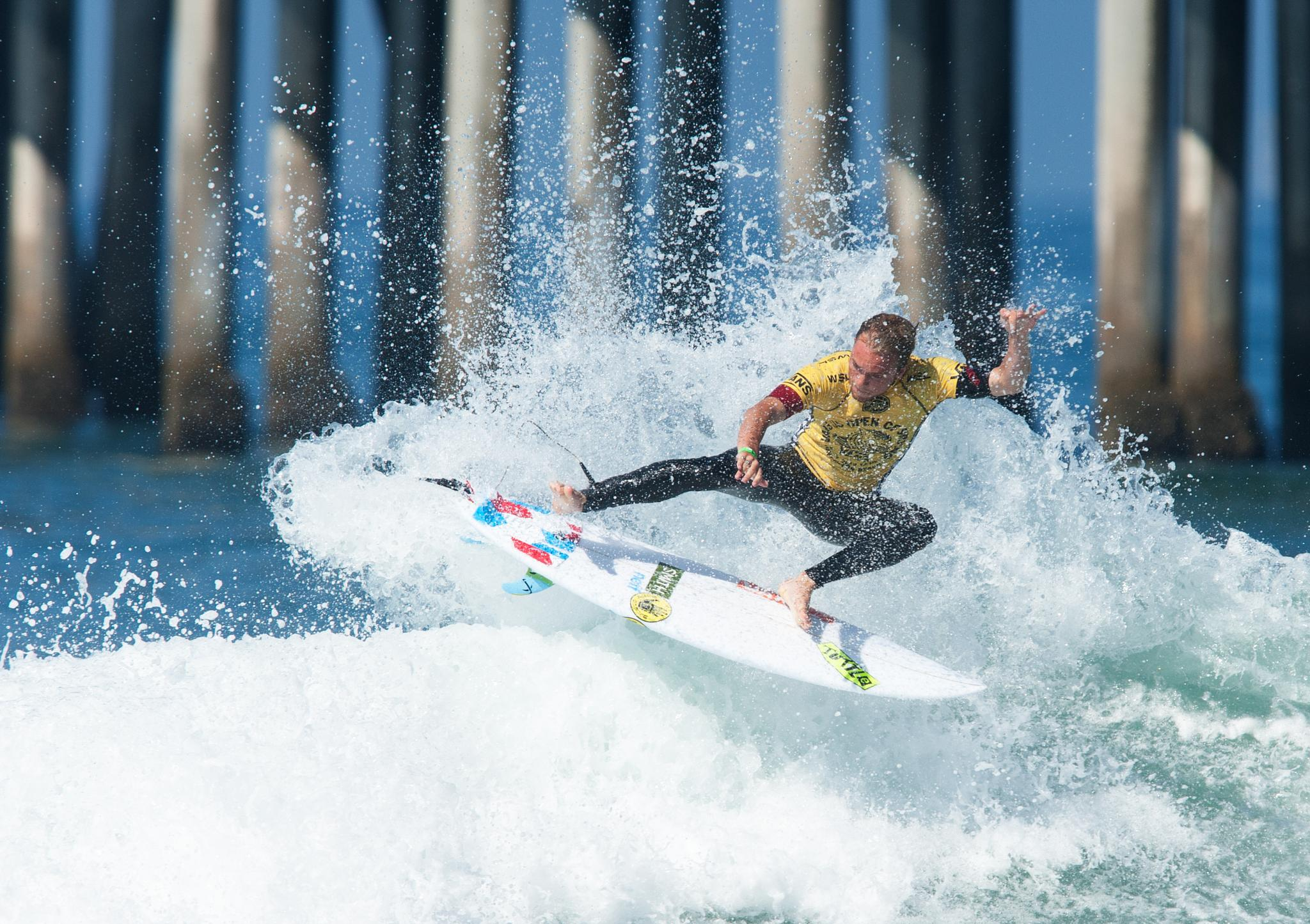 US Open of Surfing 2015 at Huntington Beach - Day 1 by blueskyoveraquatic