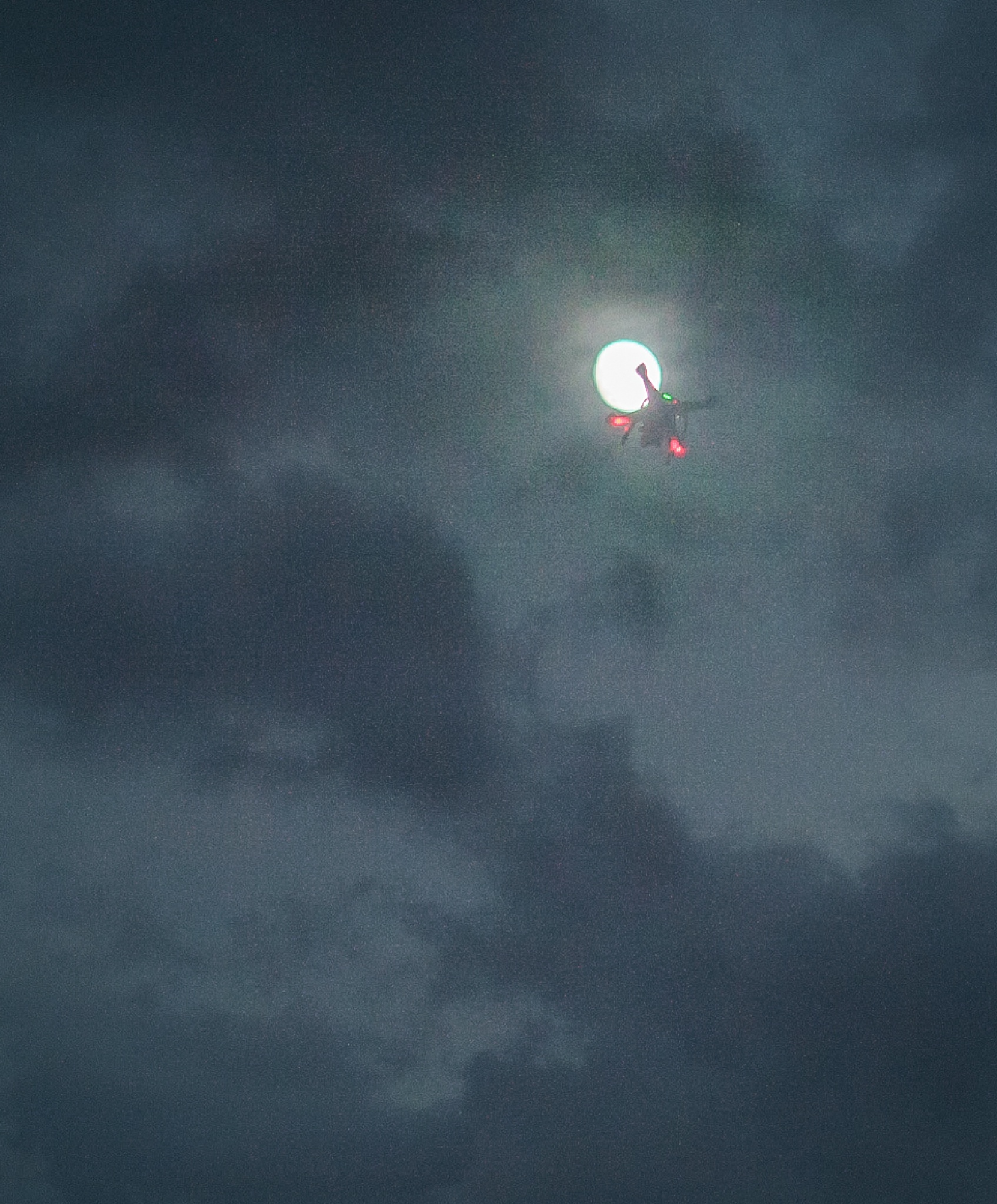 Drone, Moon, Winds, and Rains by blueskyoveraquatic
