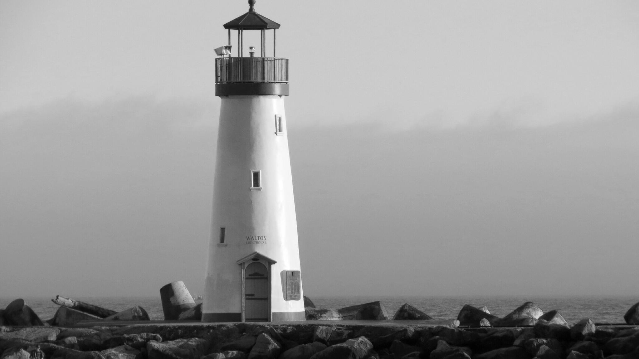 Walton Lighthouse - Santa Cruz CA by soulofcentralcoast