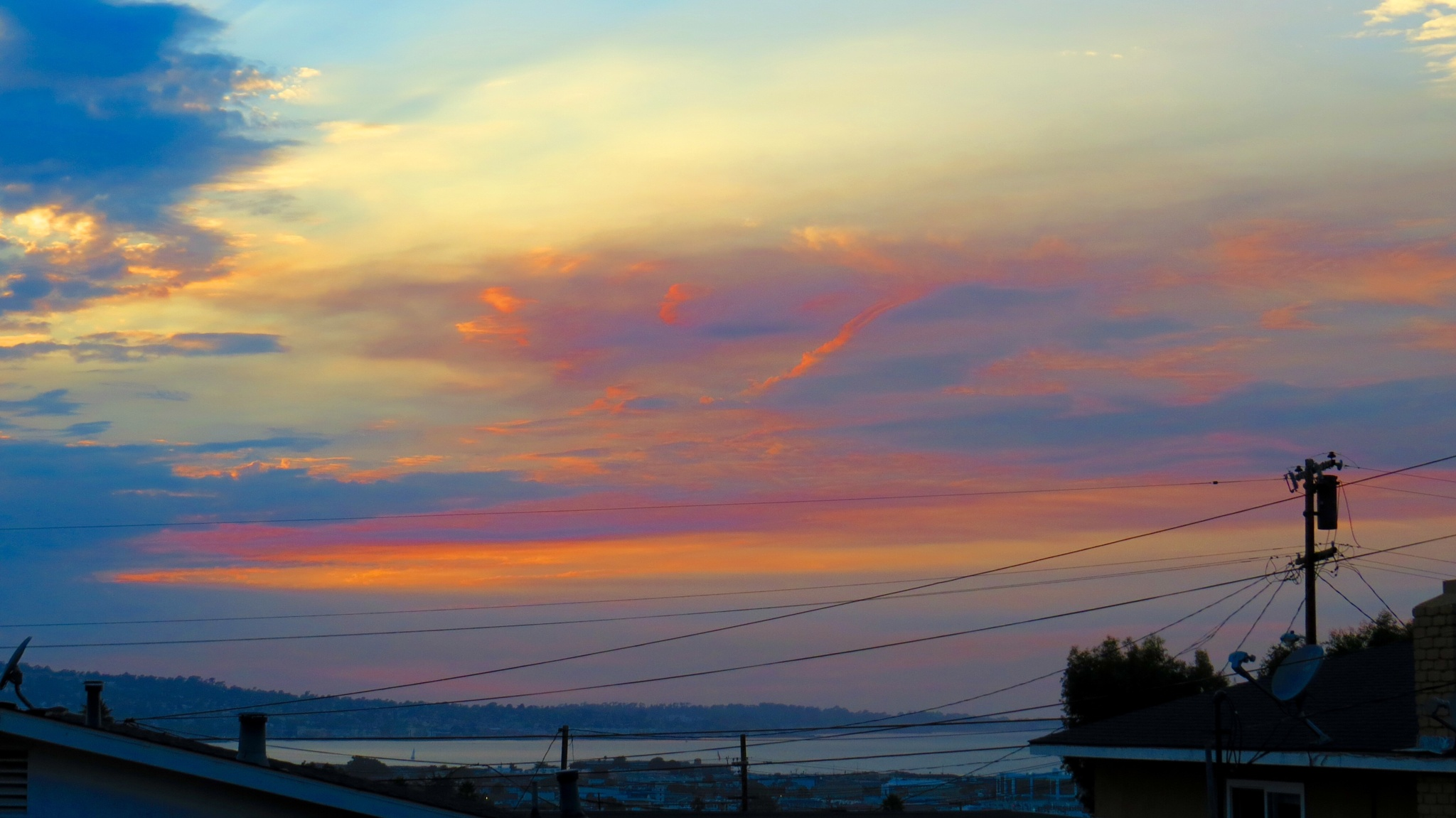 Colorful Monterey CA Sunset by soulofcentralcoast