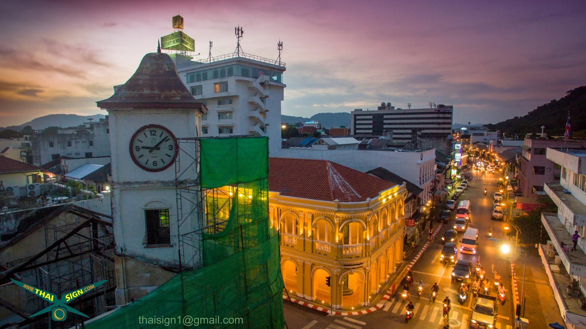 Phuket town by thaisign1