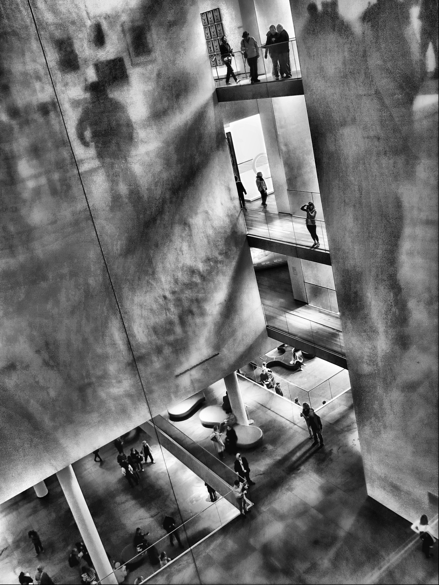 MOMA: Shadows on the wall by mariovar