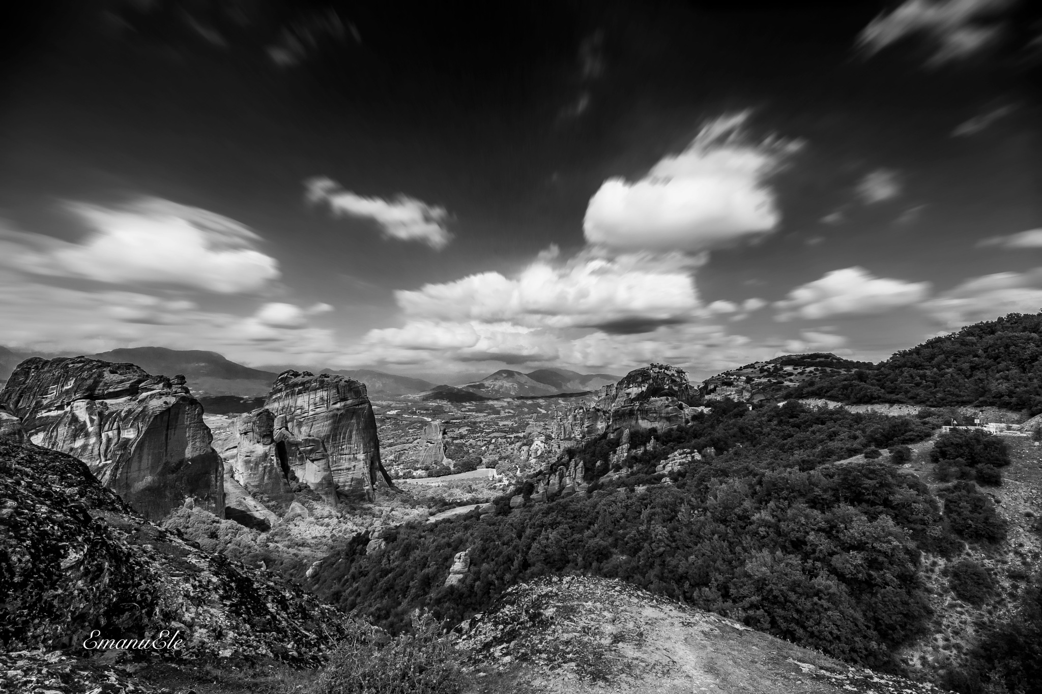 Meteora Greece - by Emanu & Ale by Emanu & Ale