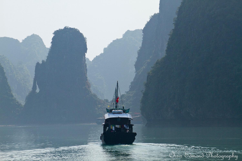 Halong Bay Vietnam by cedmond