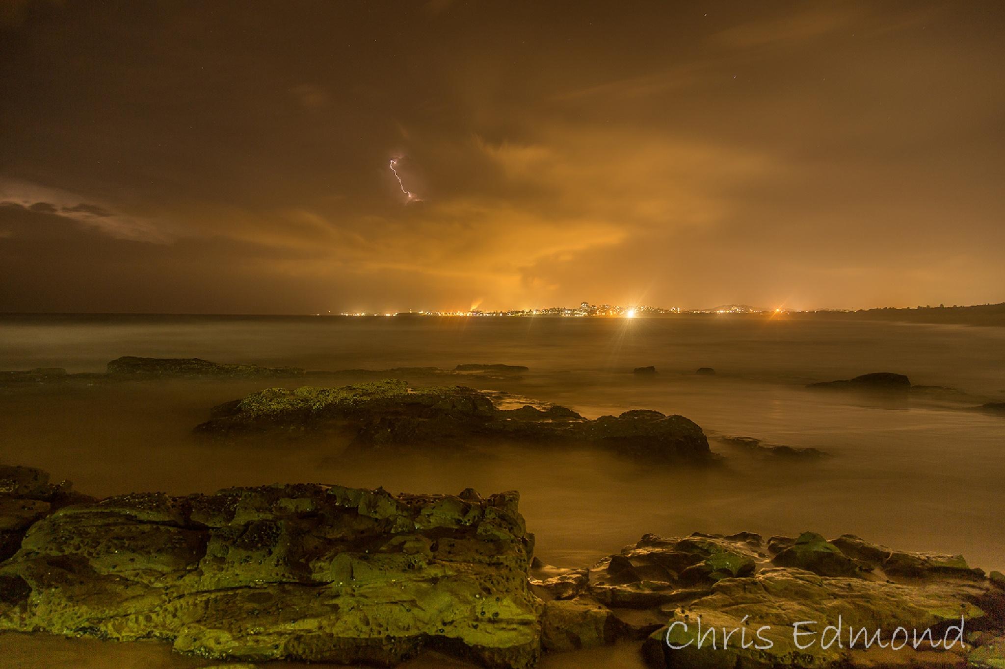 Distant storm by cedmond