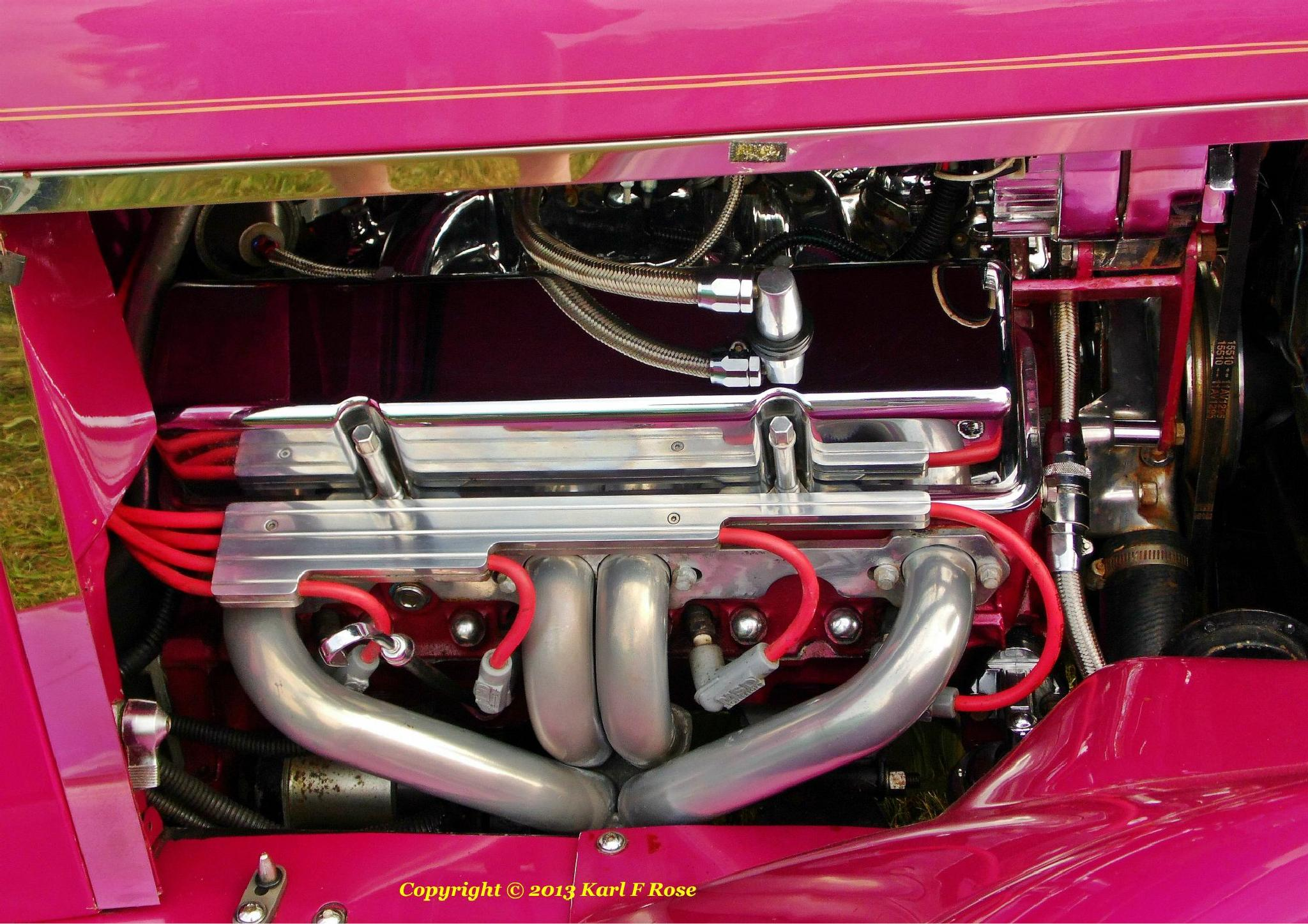 1928 Ford engine by rosebush1999