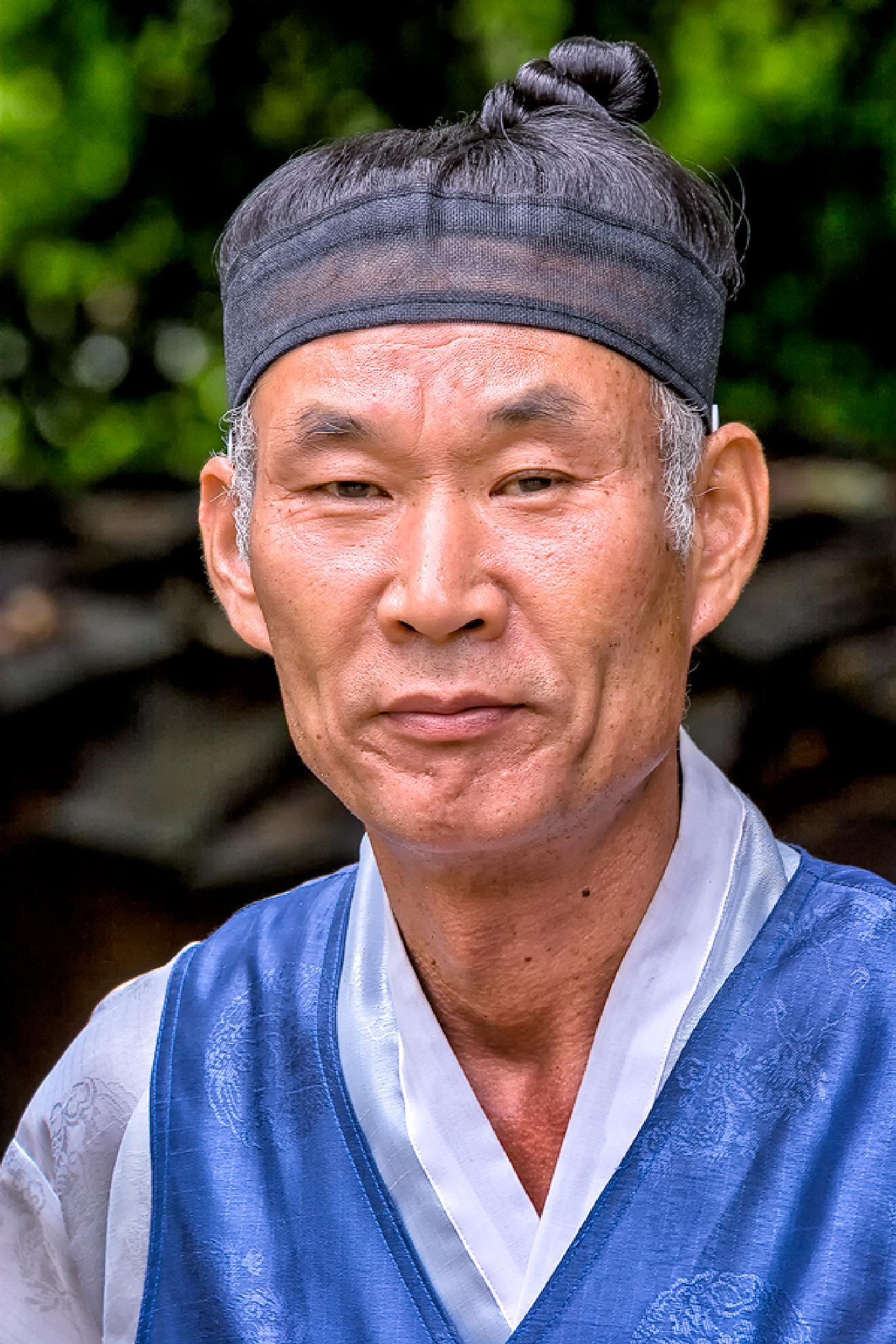 Old Style Korean Guy by dinajona