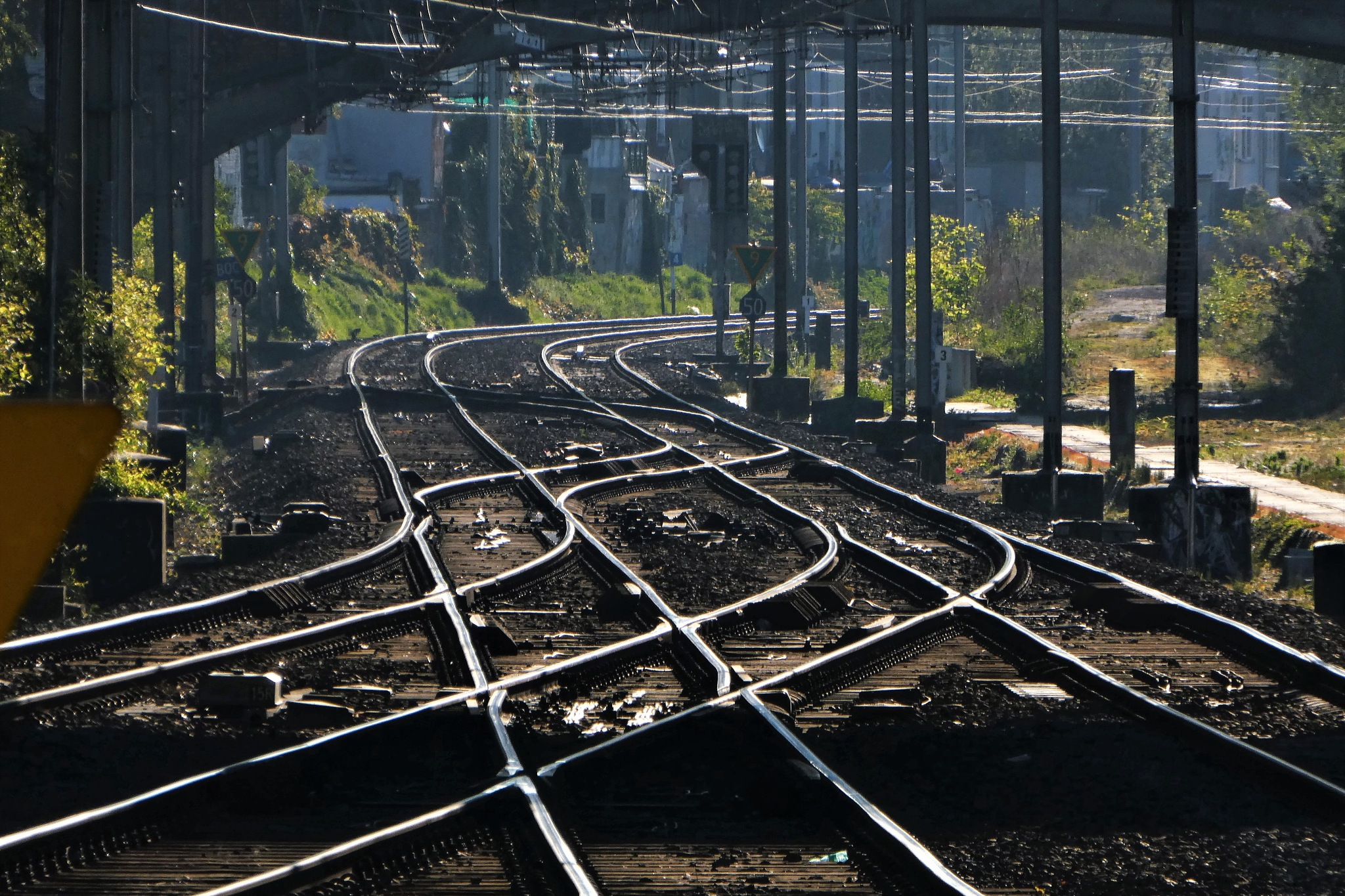 Rail Junctions by Edualc Eznad