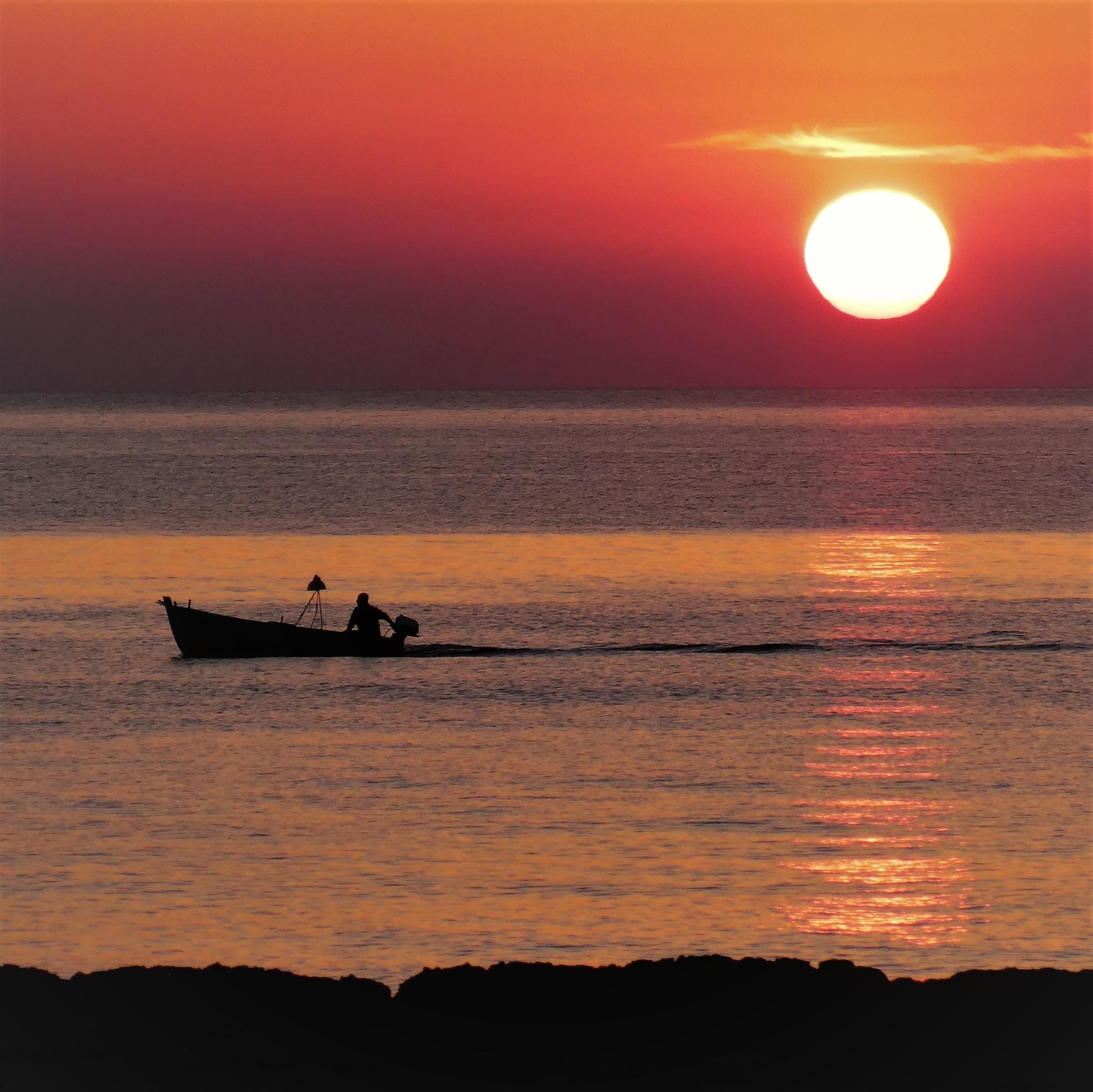 Early Morning Fisherman by Edualc Eznad