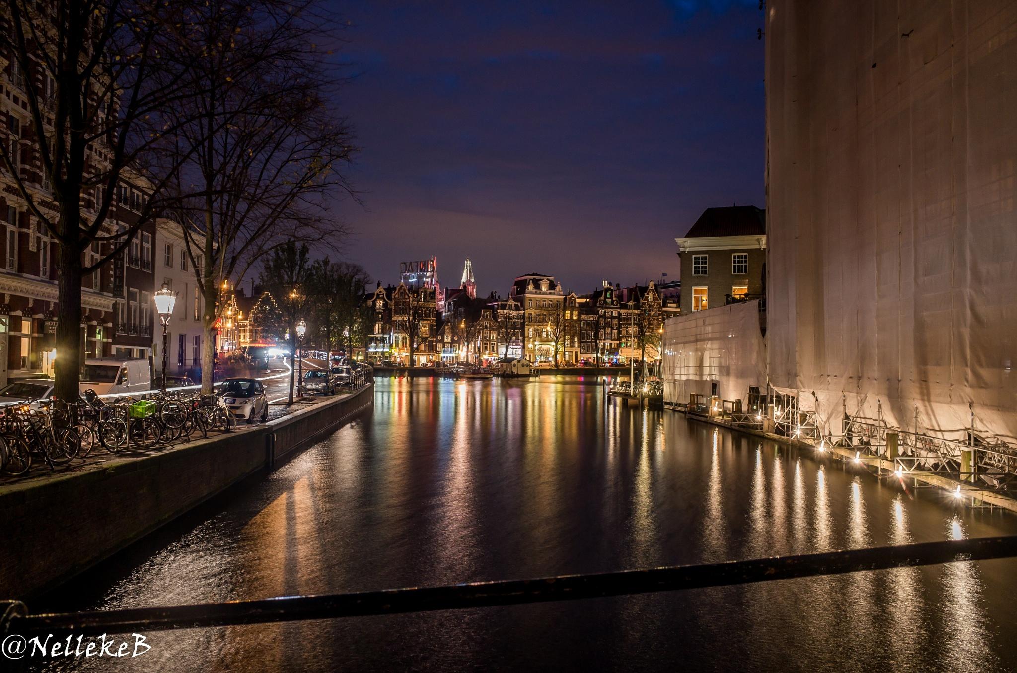 View on the Amstel by nellekebmn
