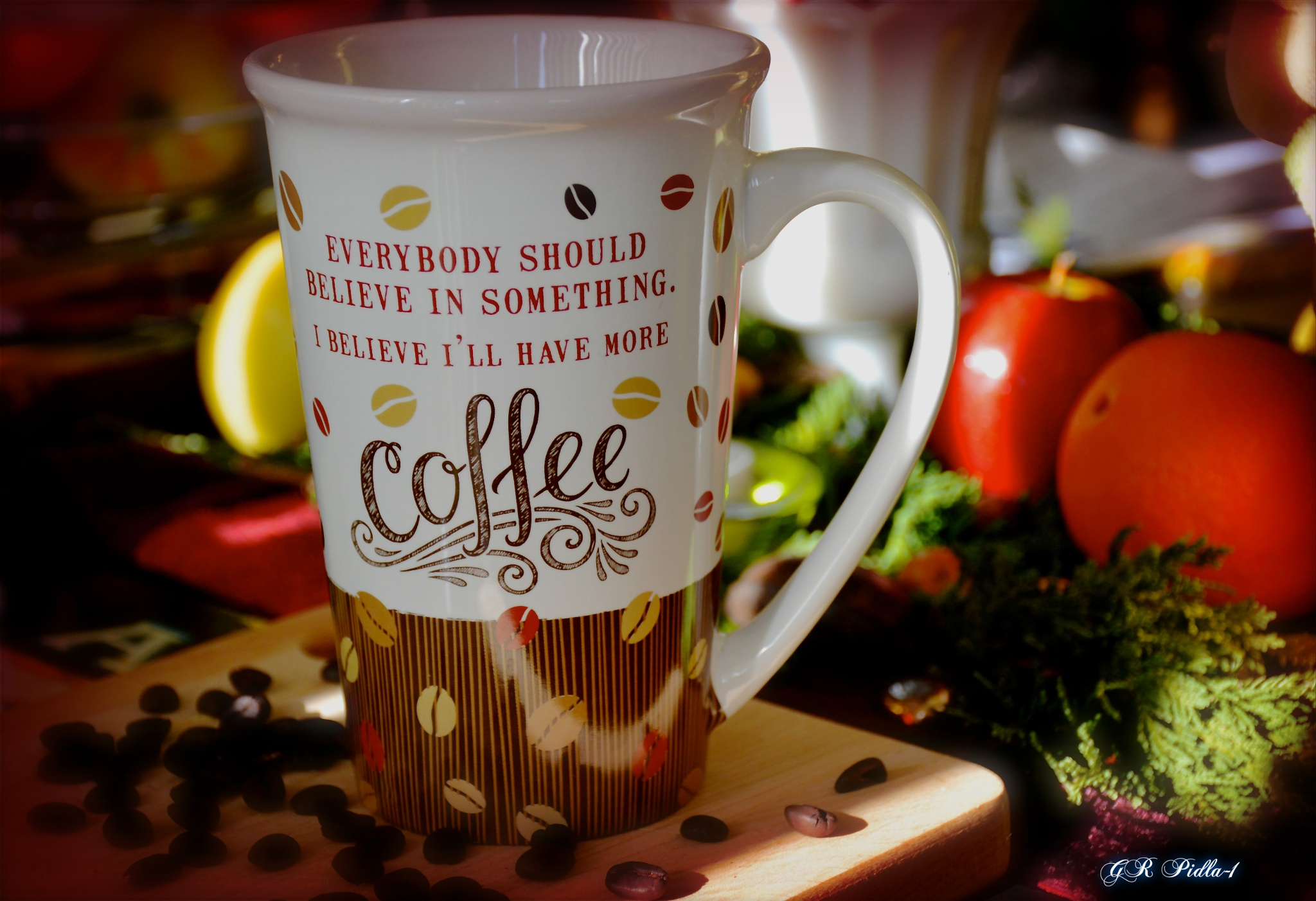 Let's Have A Cup Of Coffee by Gina  Alwaysmile (*_*)