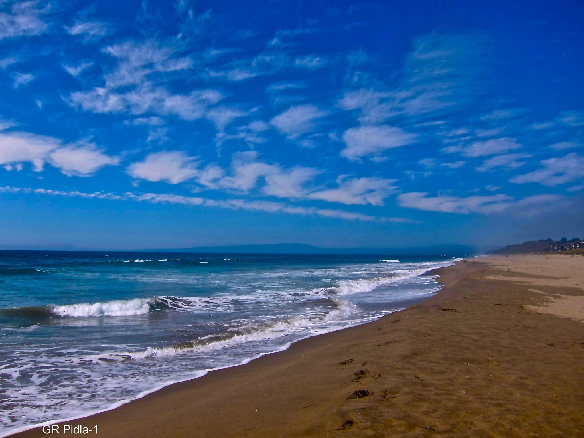 Calm & Quiet at the beach by Gina  Alwaysmile (*_*)