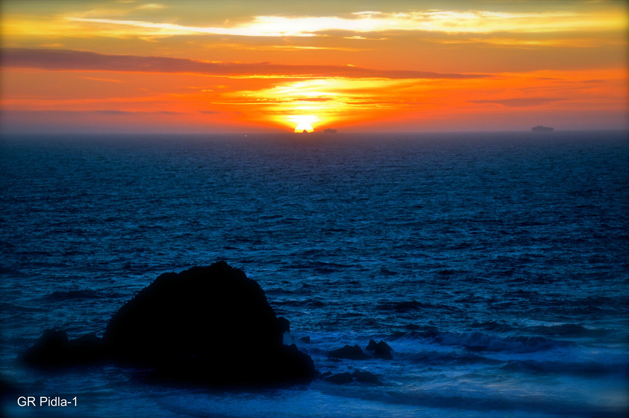 The Beauty Of a Sunset by Gina  Alwaysmile (*_*)