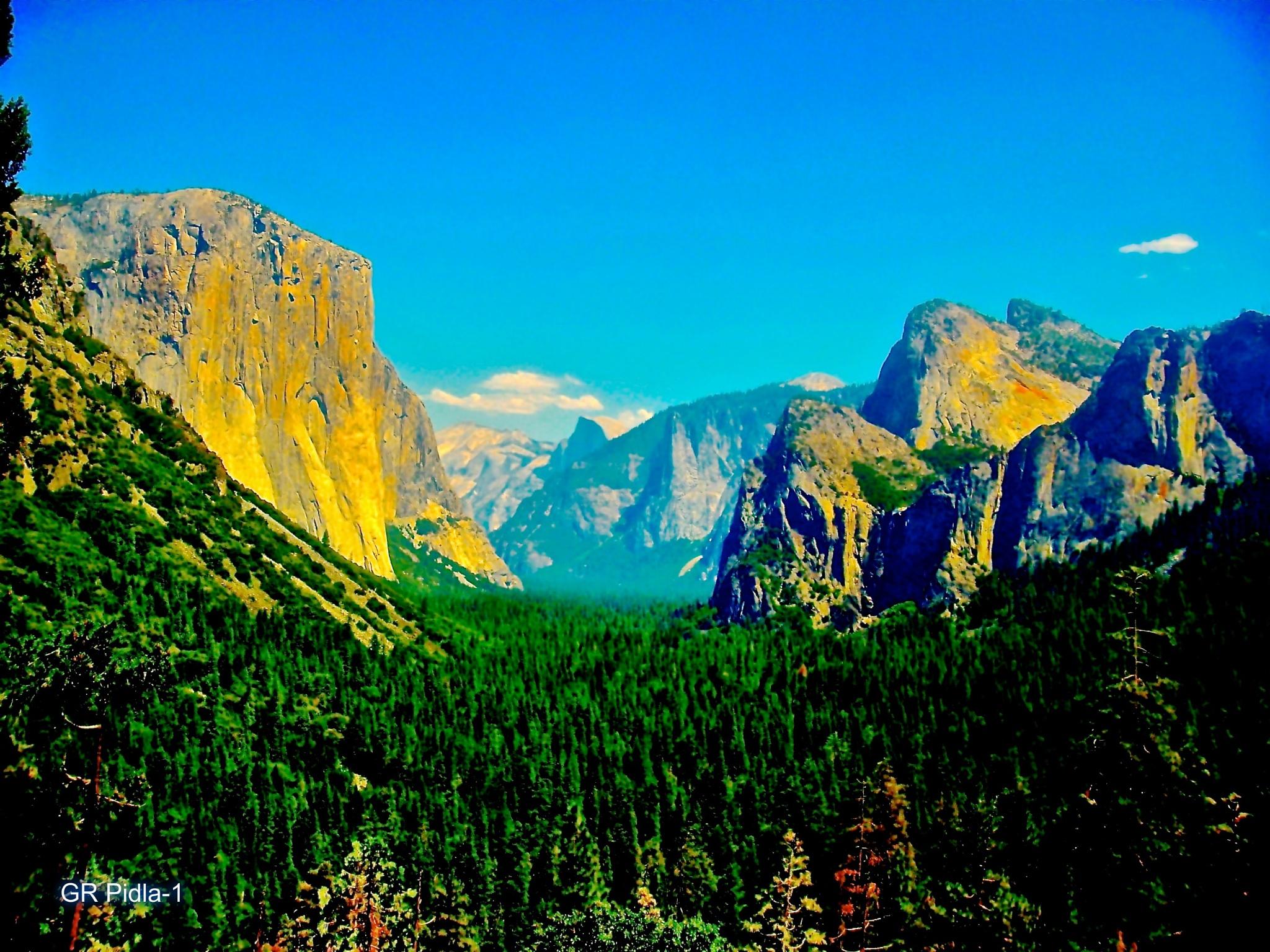 Yosemite by Gina  Alwaysmile (*_*)