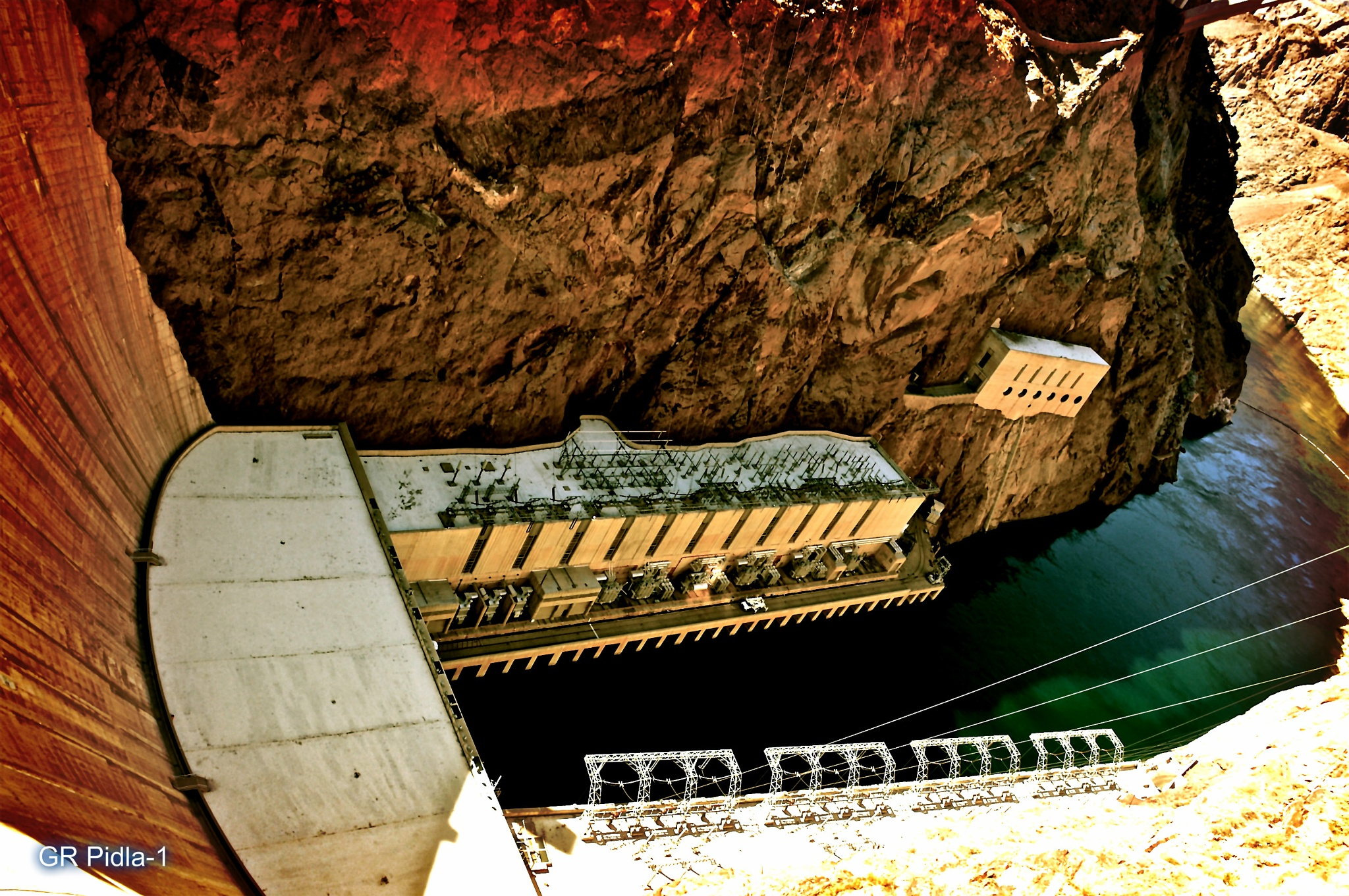 Hoover Dam #2 by Gina  Alwaysmile (*_*)