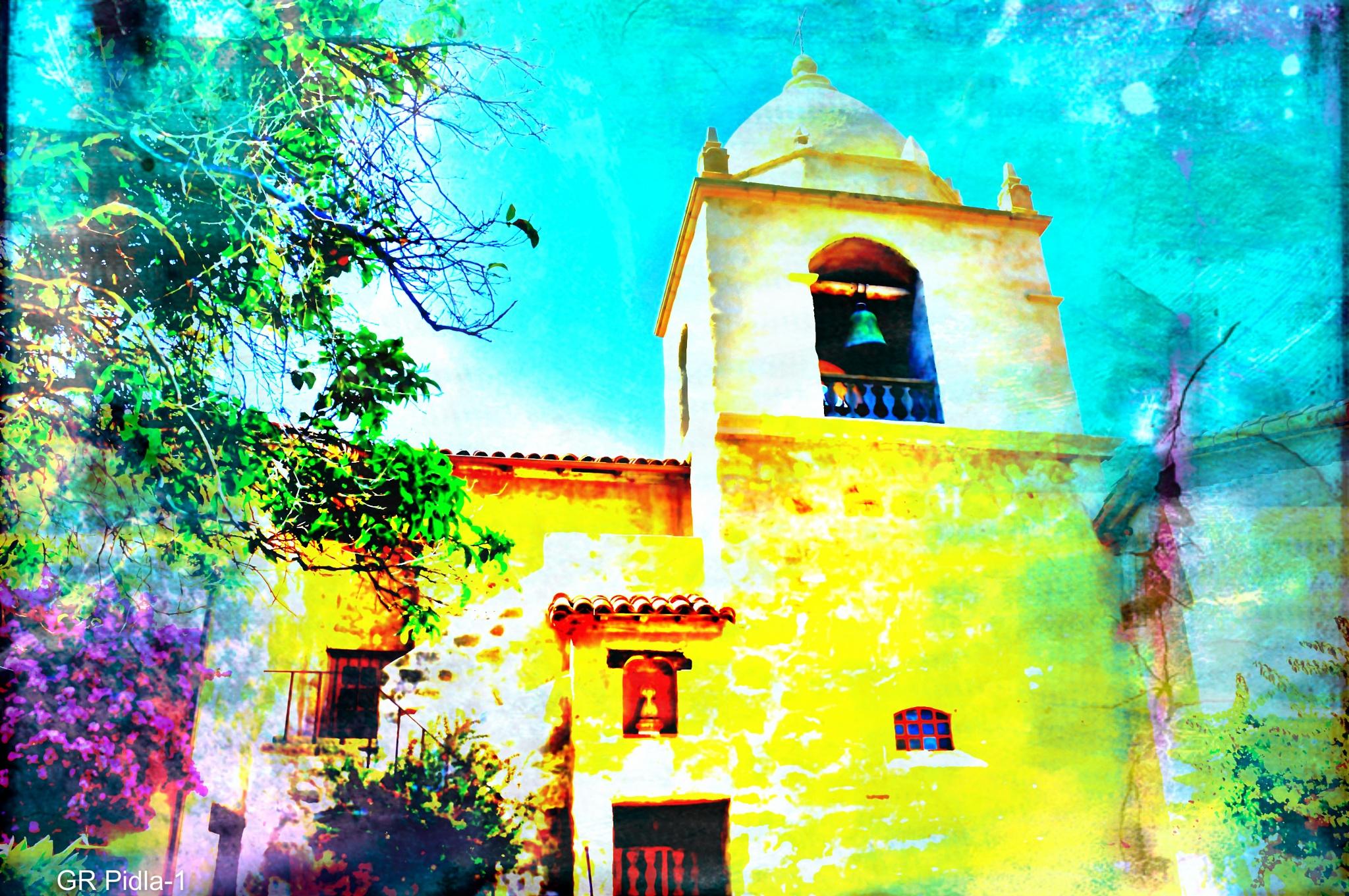 Mission Carmel by Gina  Alwaysmile (*_*)