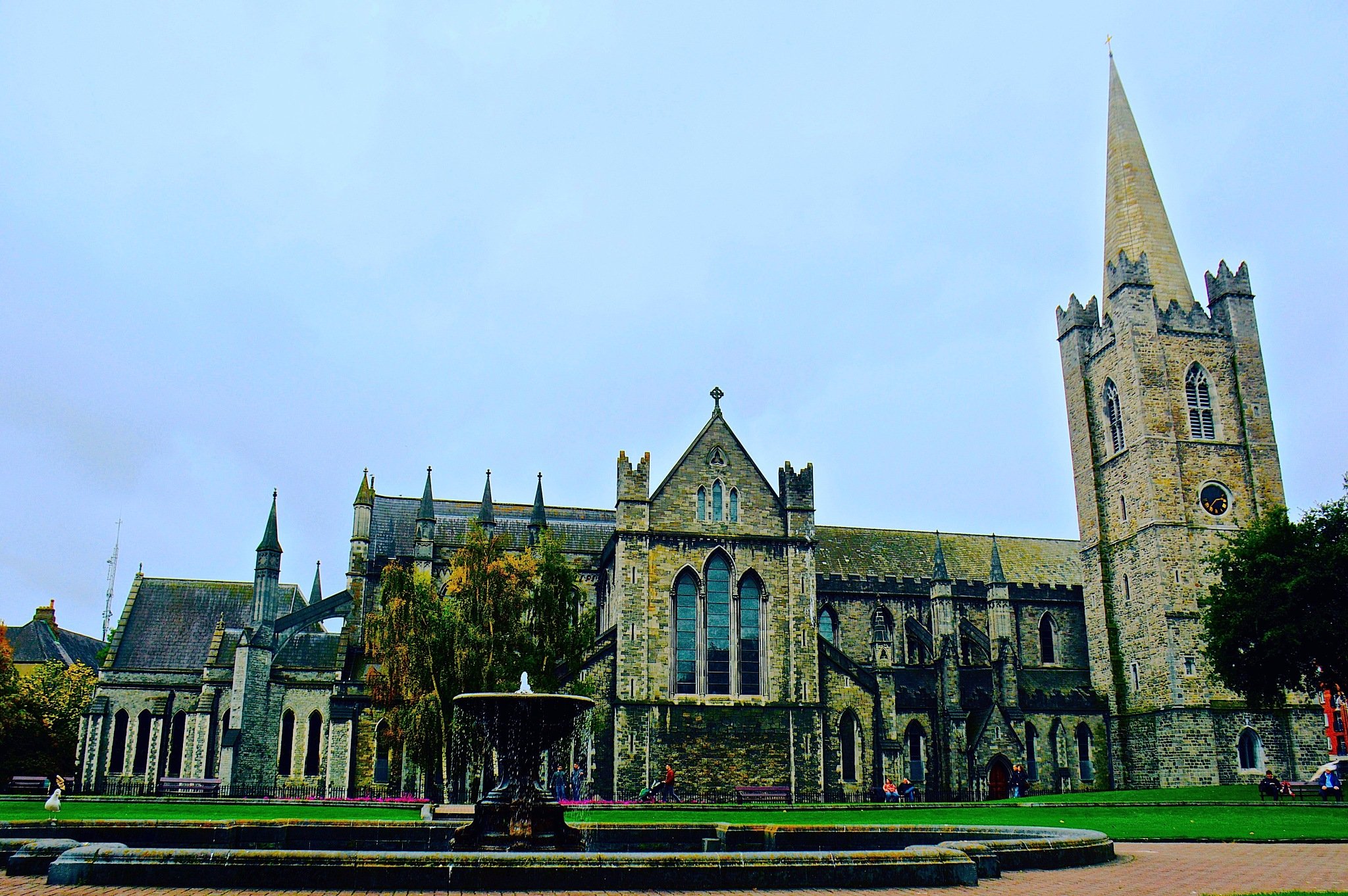 Saint Patrick Cathedral by Gina  Alwaysmile (*_*)