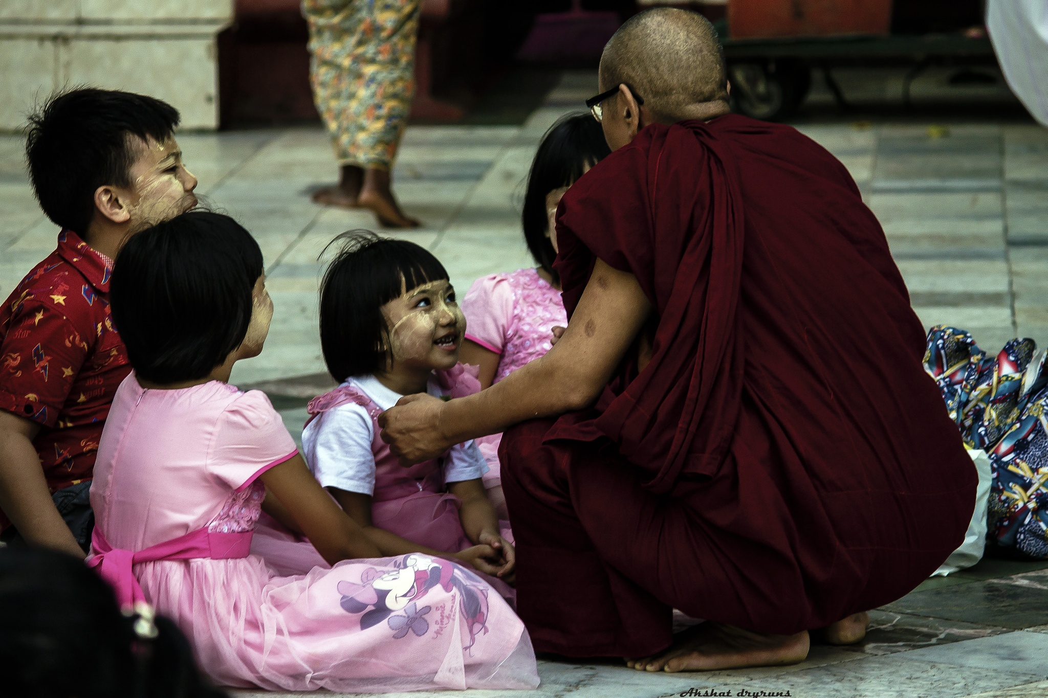 Life Inside Pagoda - Teacher by Akshat dryruns