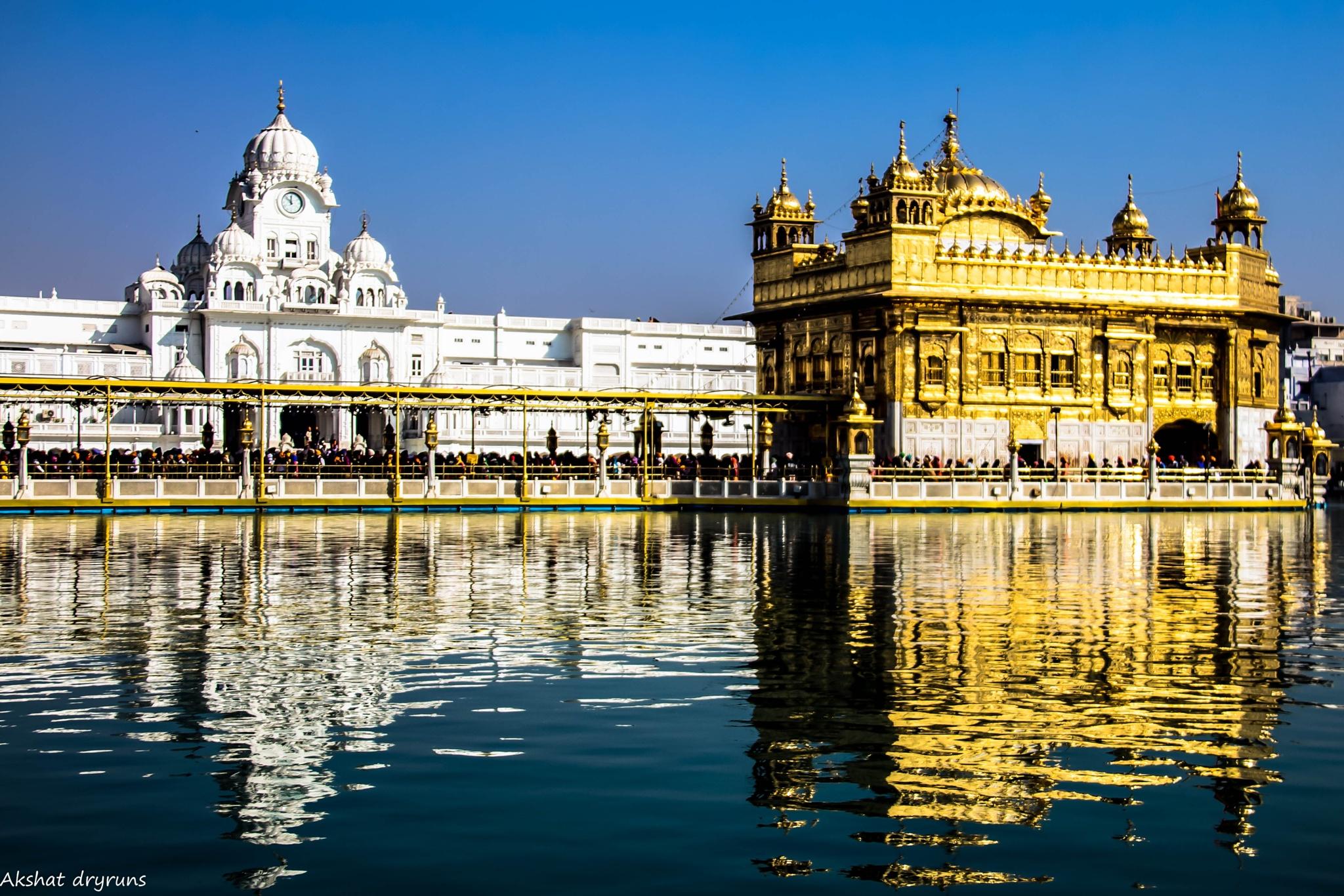 Golden Temple Amritsar by Akshat dryruns