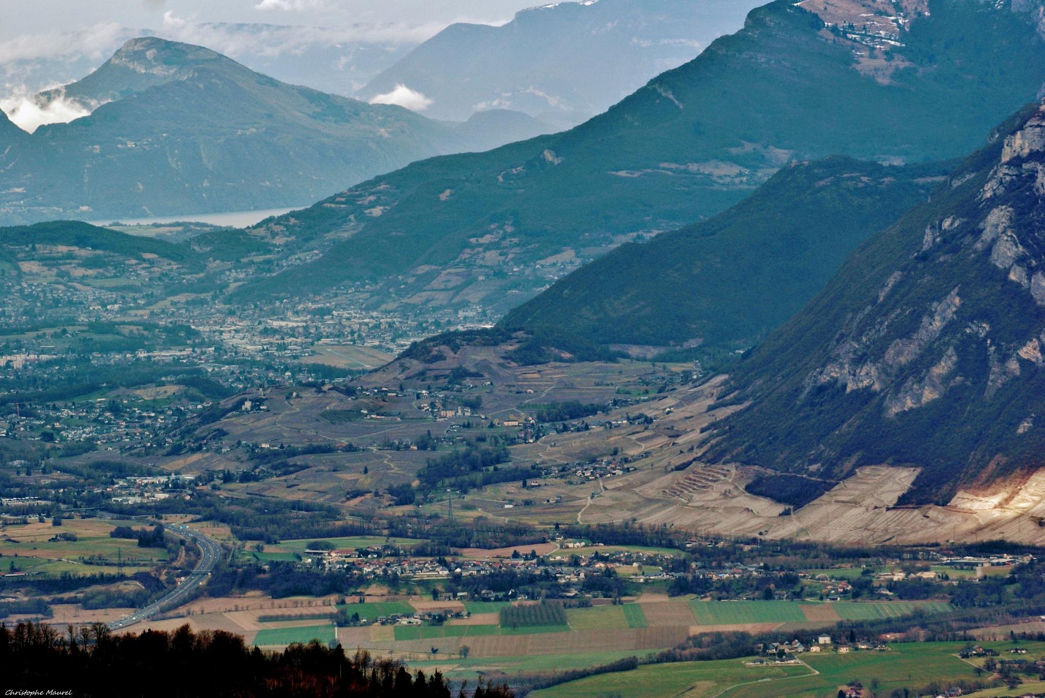 Savoie......Vallée de Chambéry au Bout le Lac du Bourget. by christophe.maurel15