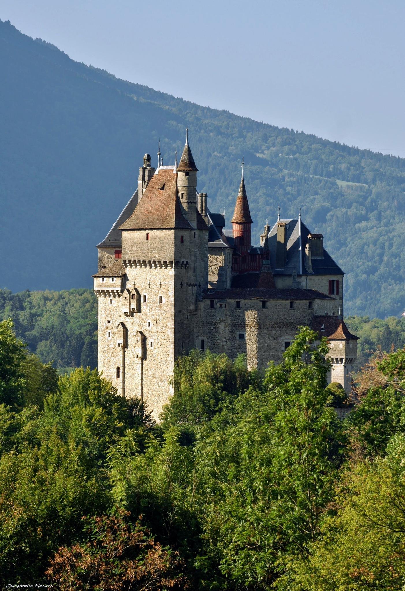 Haute-Savoie........Chateau Menthon-Saint-Bernard. by christophe.maurel15
