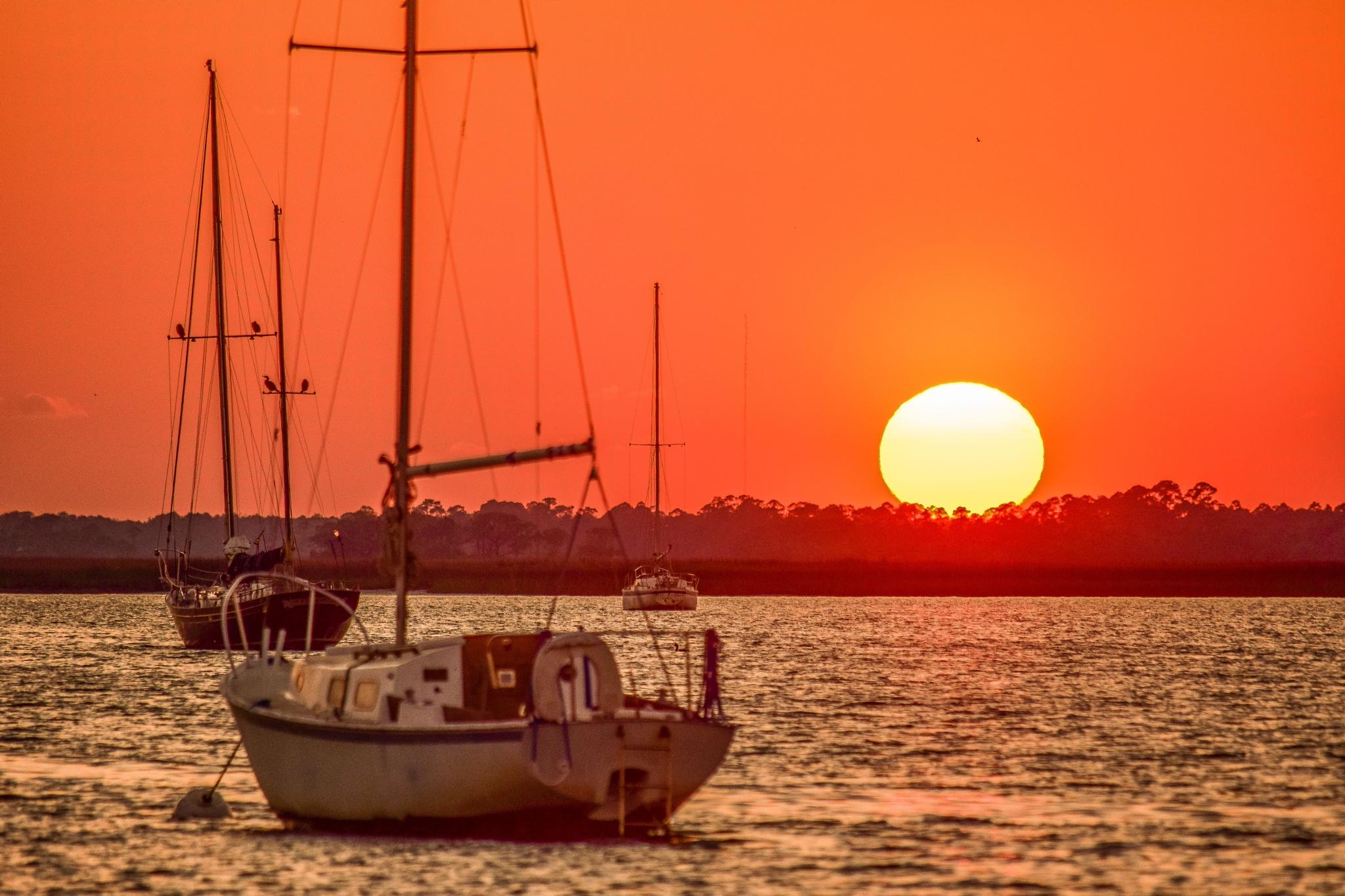 sunset by PrentissFindlay