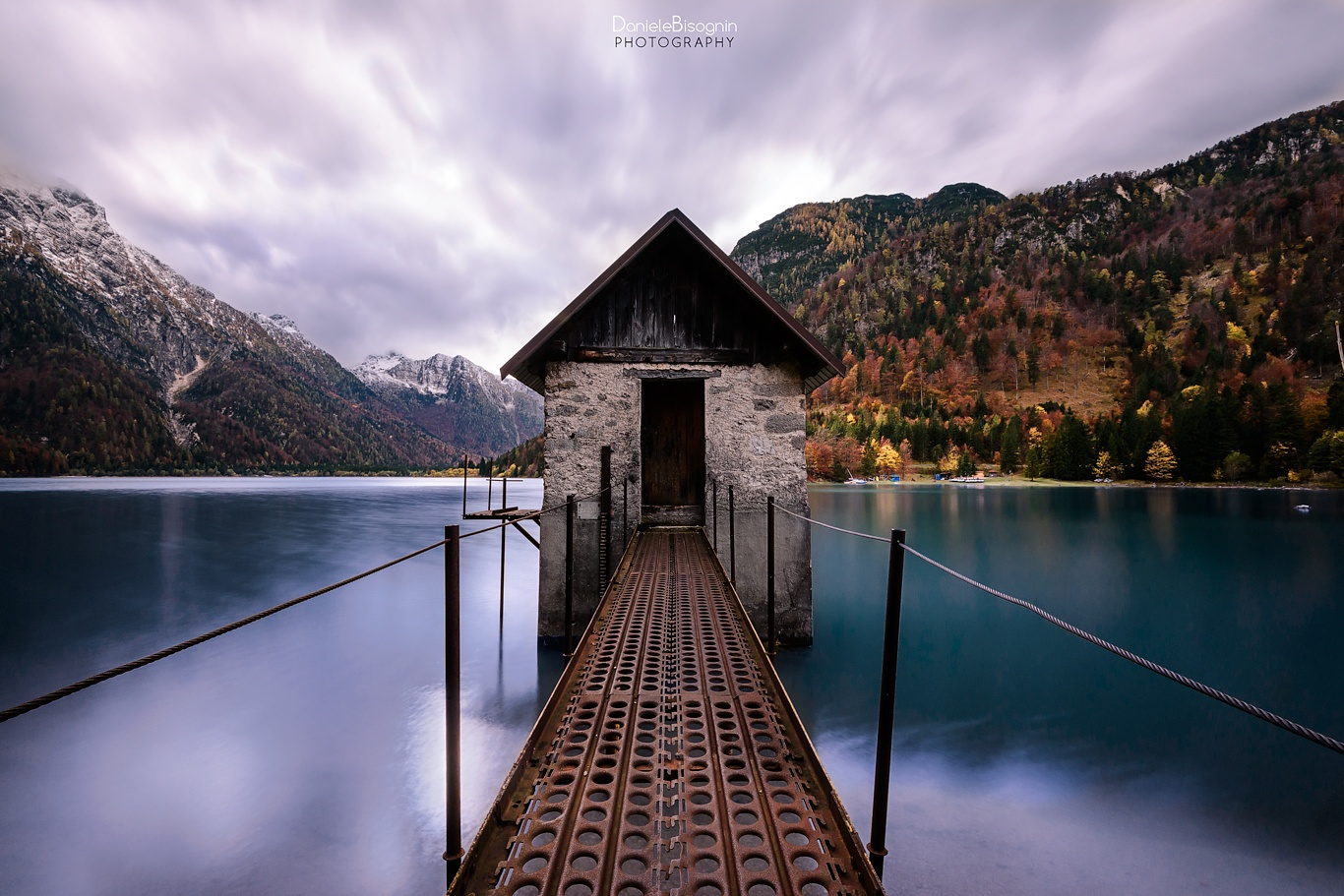 The hut in the lake by Daniele Bisognin