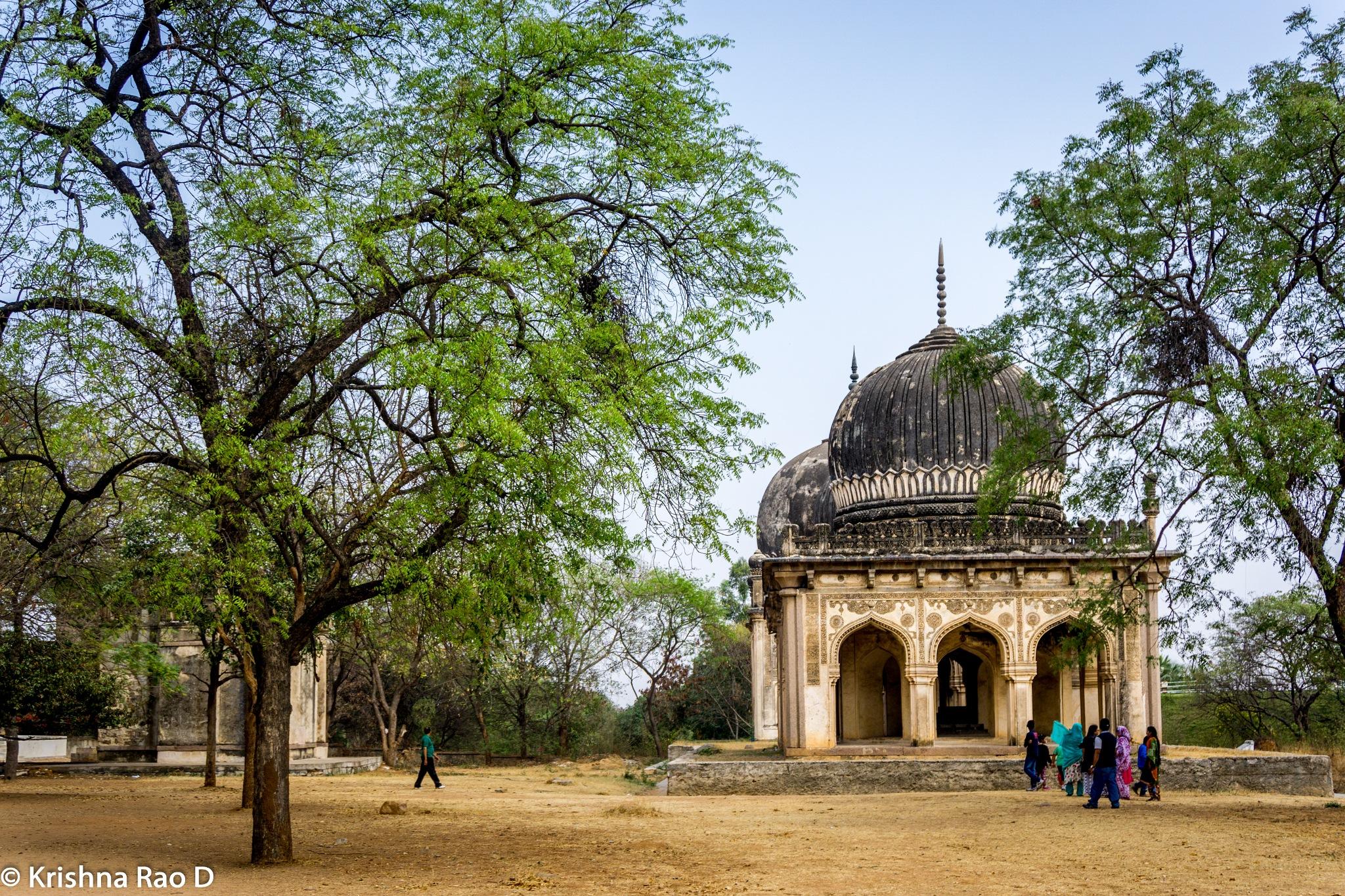 paigah tombs by Krishna Rao D