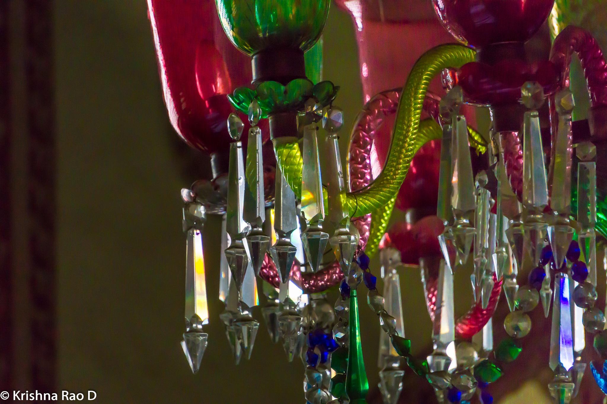 chandelier by Krishna Rao D