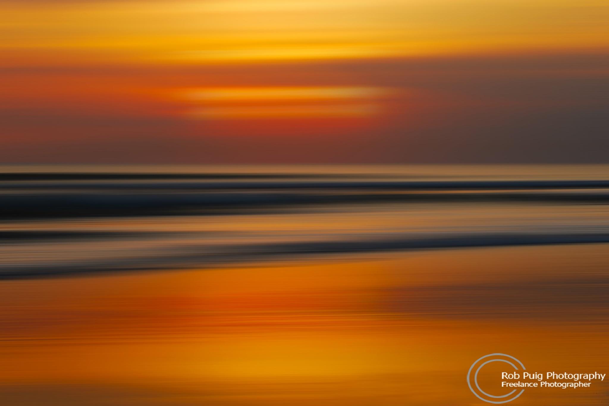 Sunset Blur by Robert Puig