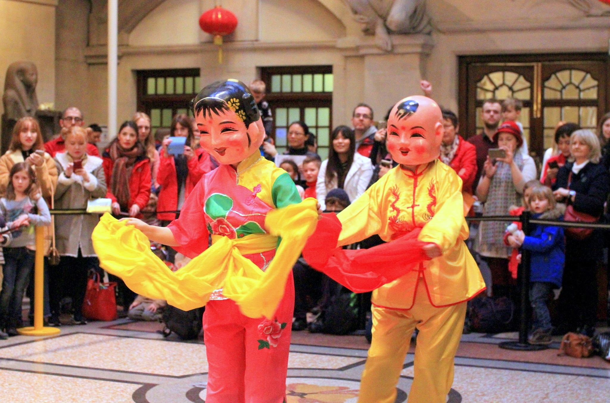 Chinese Folk dance characters by John191cr