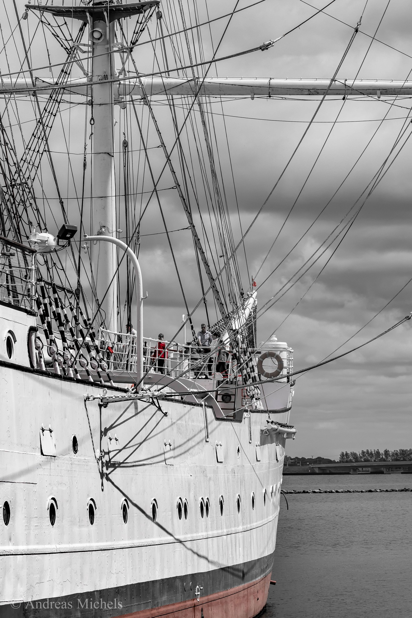 Gorch Fock. by Andreas Michels