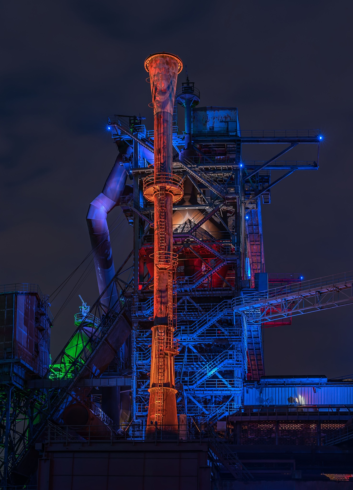 Blast furnace by Andreas Michels