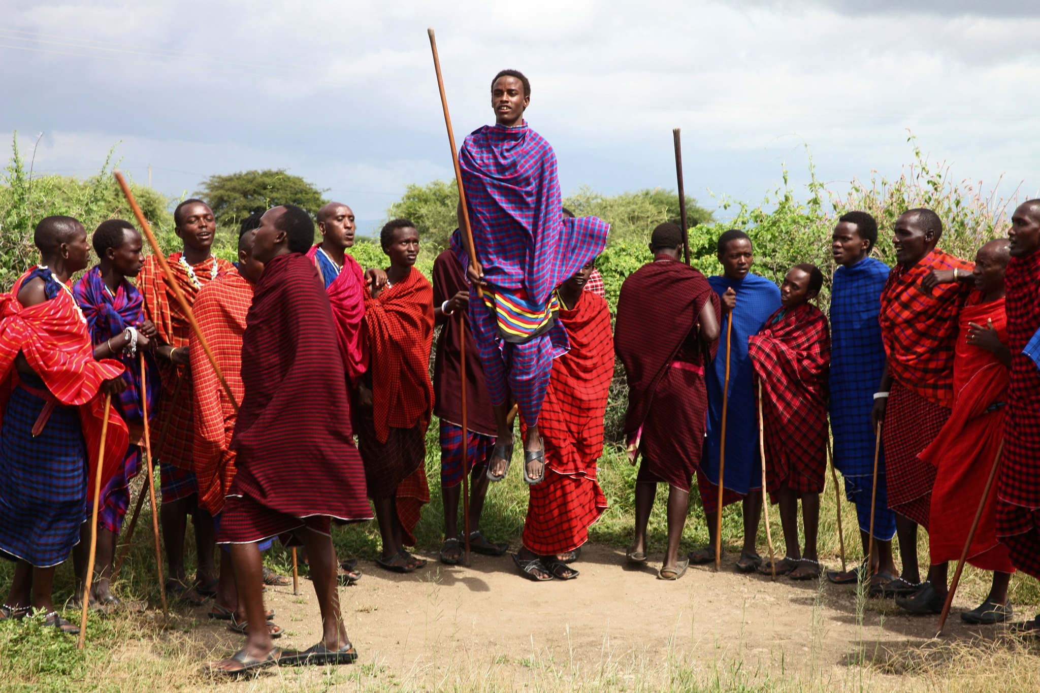 The Maasai Of Tanzani by robteilets