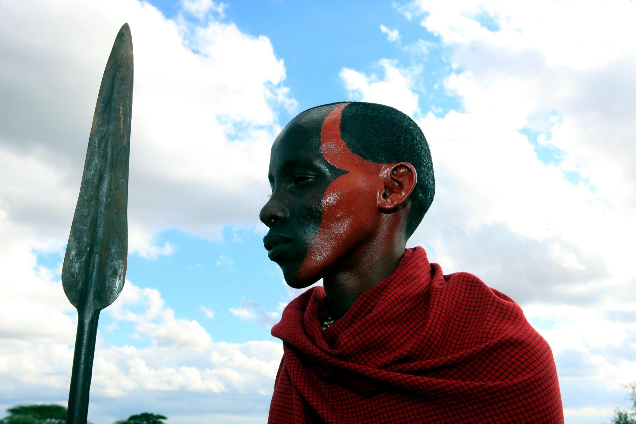 The MaasaI , kenya by robteilets