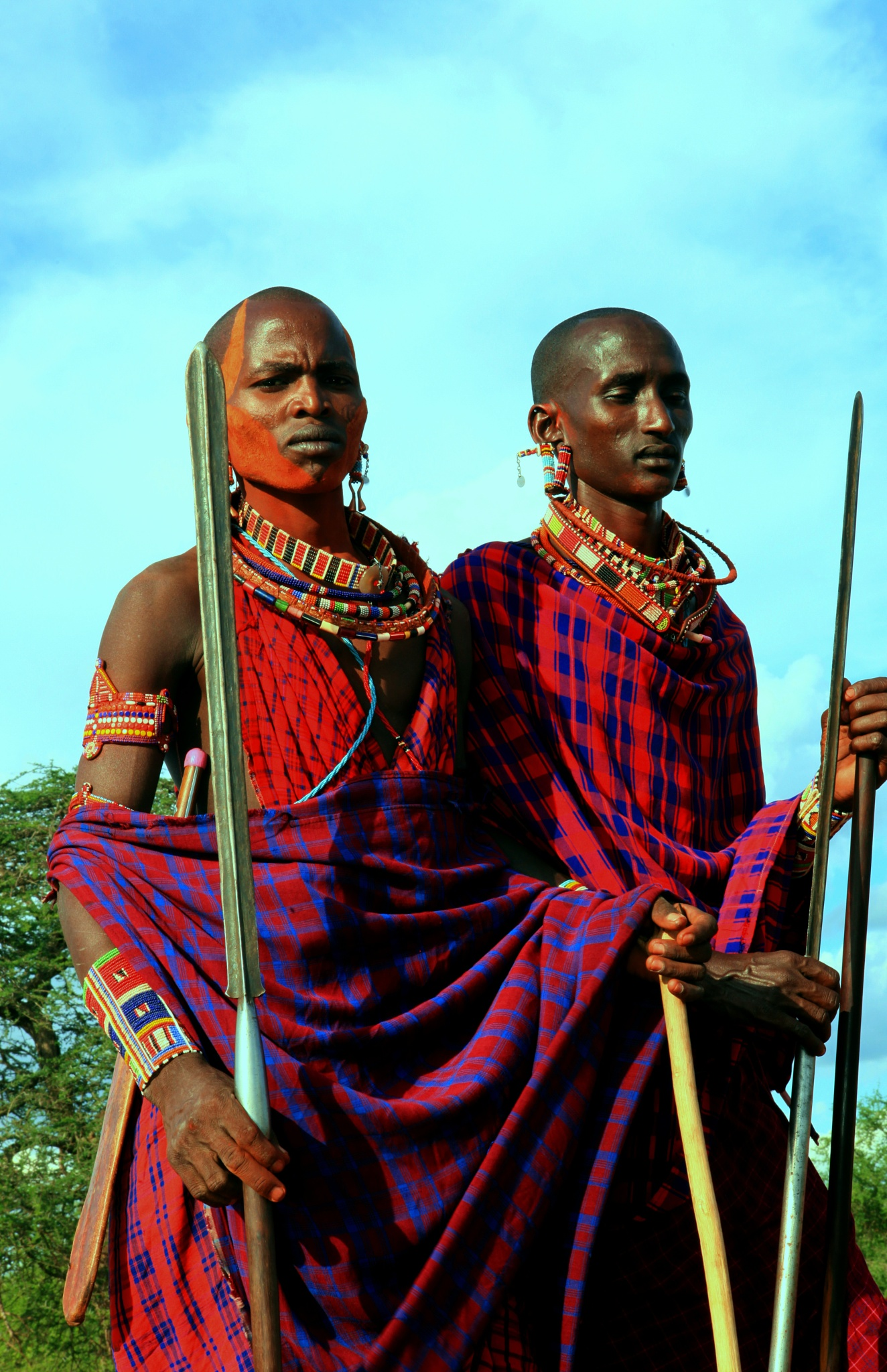 The Maasai, Kenya by robteilets