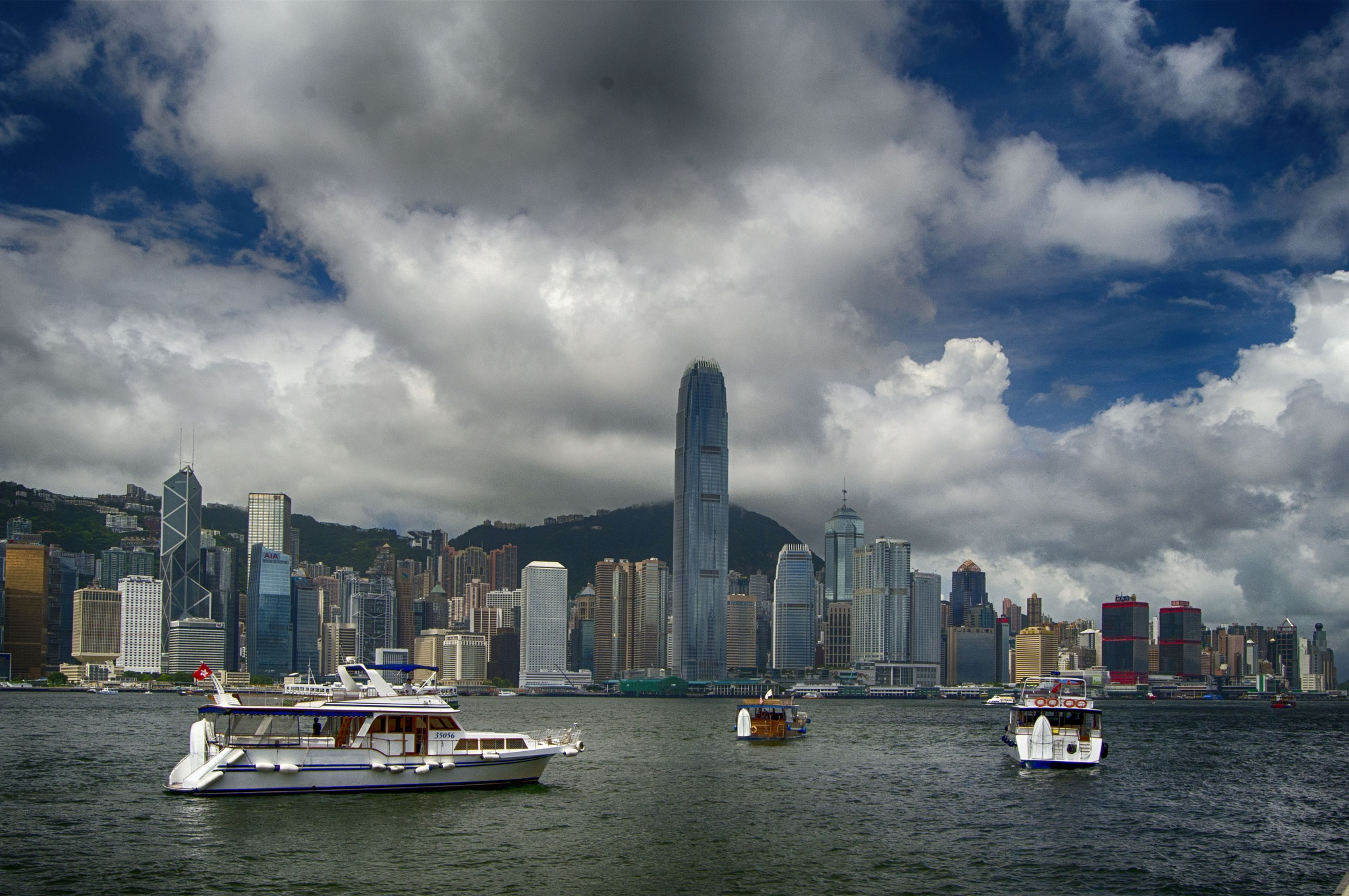 Skyline, Central, Hong-Kong by jeece69