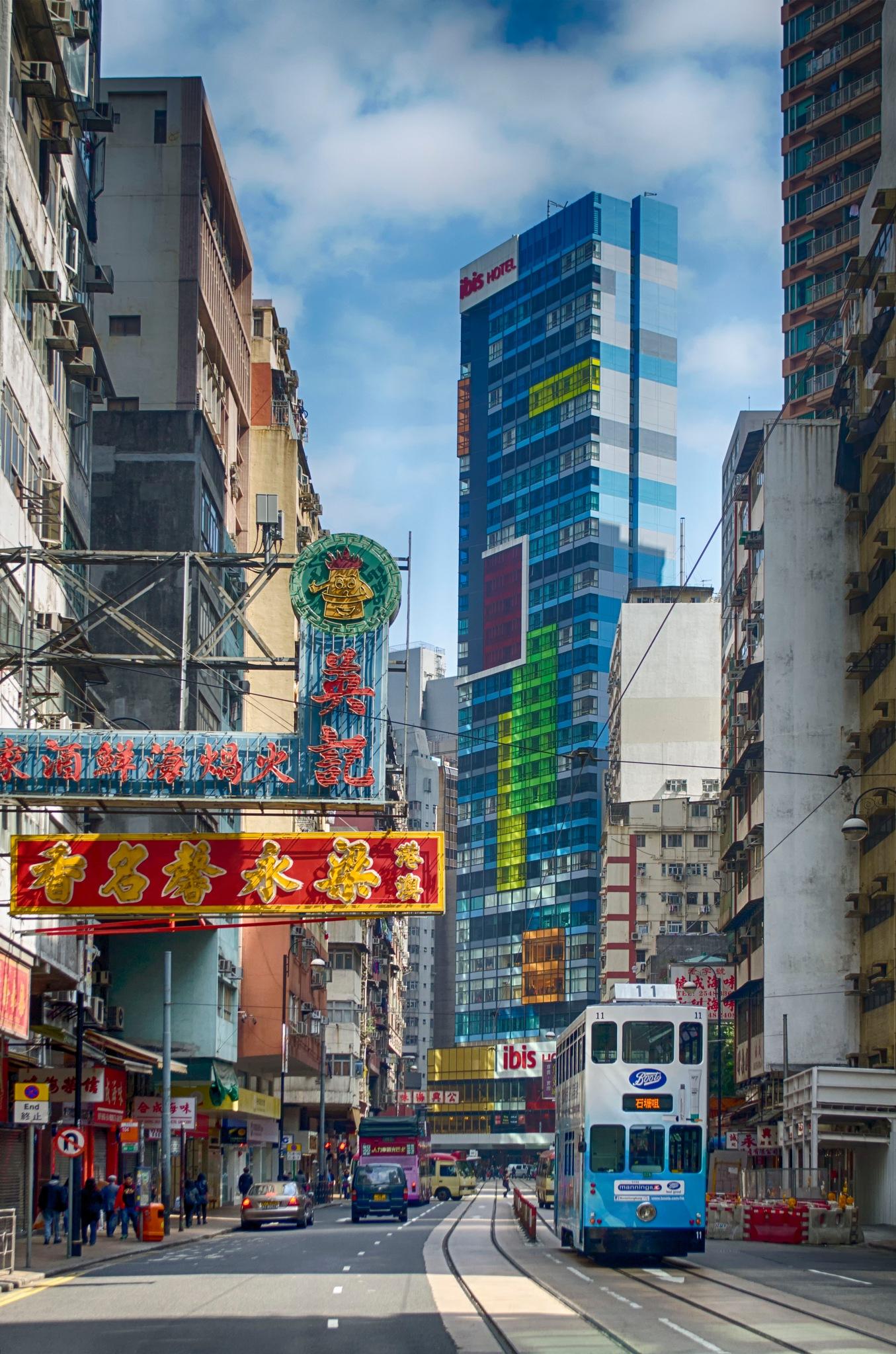 De voeux Road, Hong-Kong by jeece69