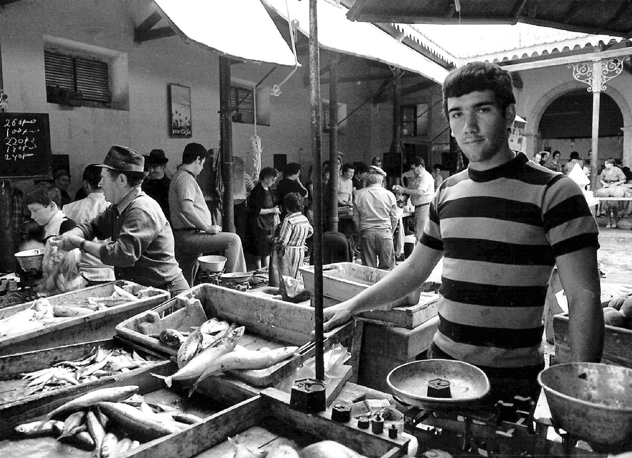 Fish Market Portimao, Portugal. by DenisJosephDalby