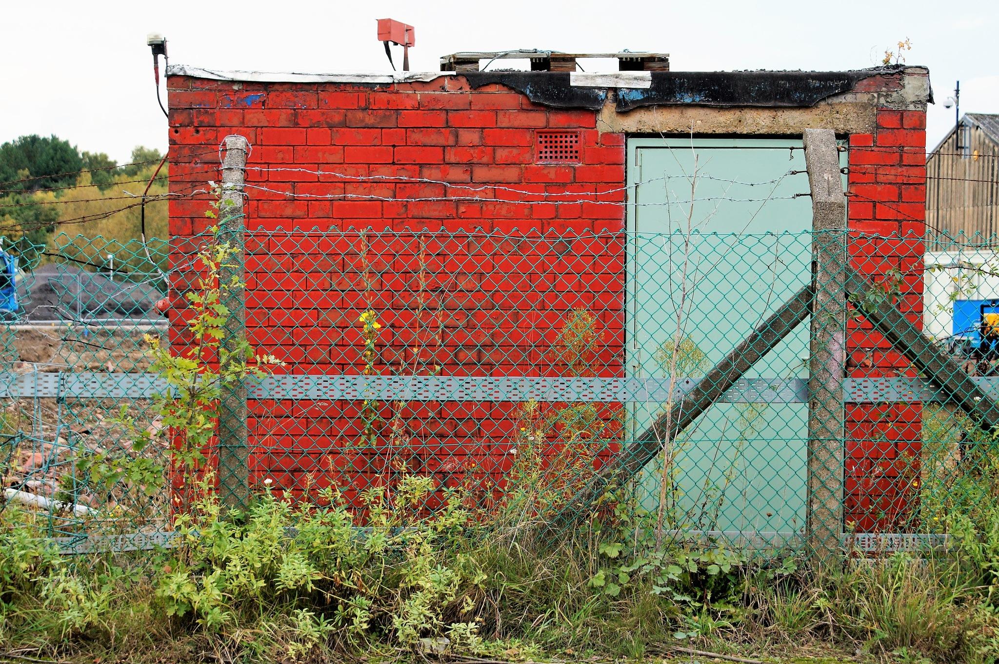 Red Bricked Buiding by DenisJosephDalby