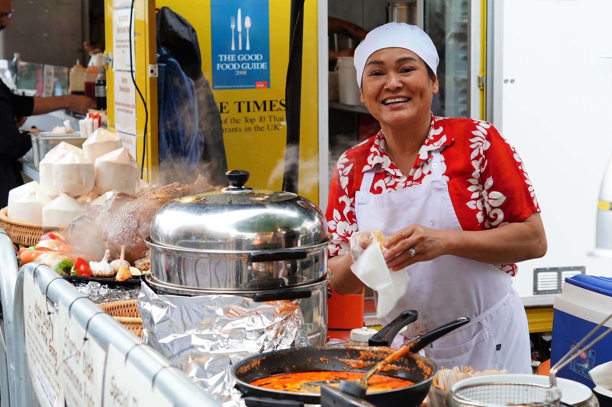 Happy Thai Chef by DenisJosephDalby