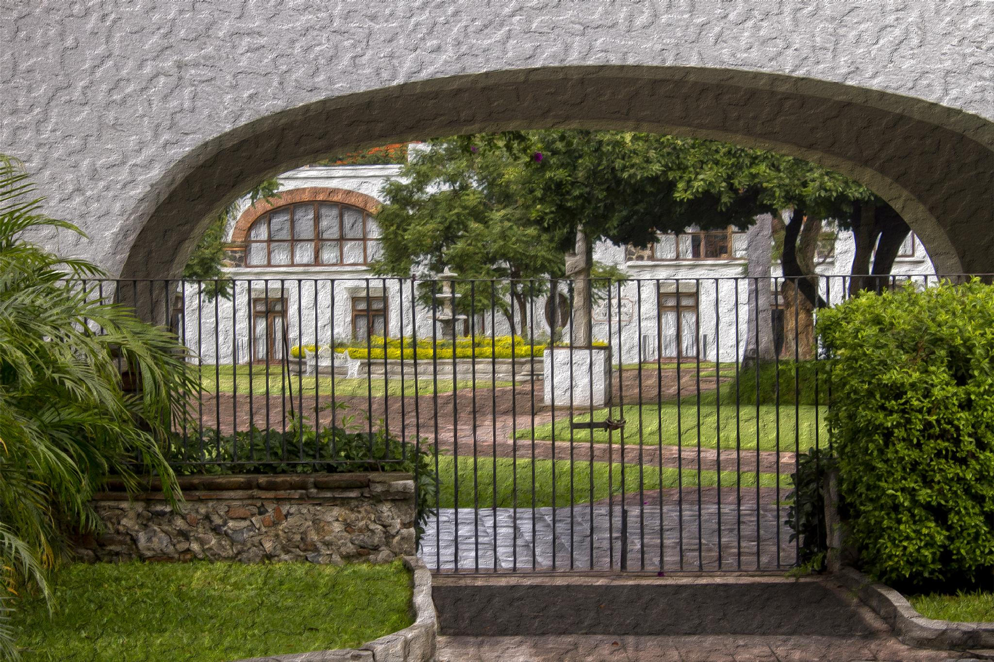 Rincón en la hacienda de Cocoyoc by Pejuta Grünstein