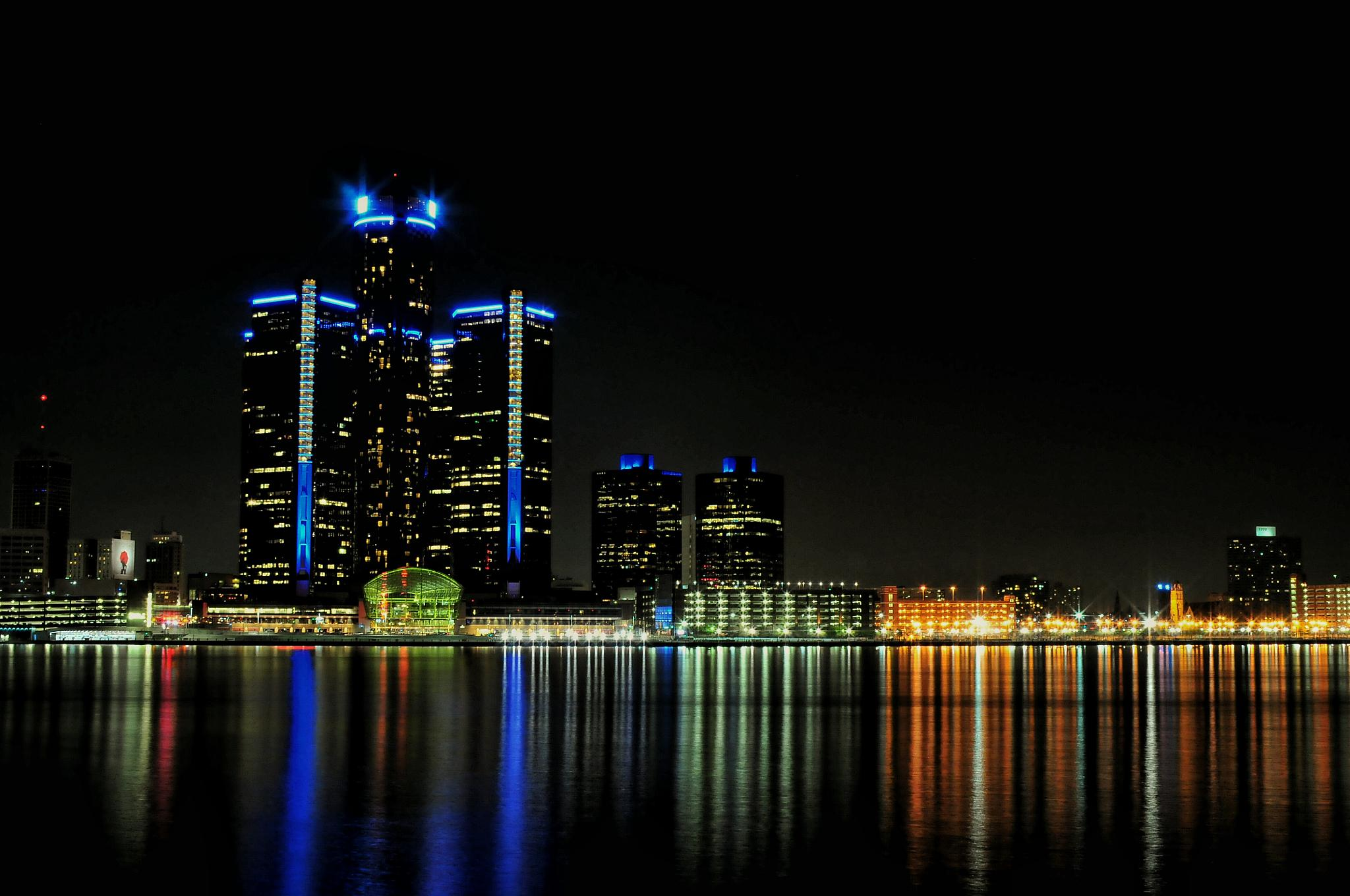 The Renaissance Centre by Herb Drummond