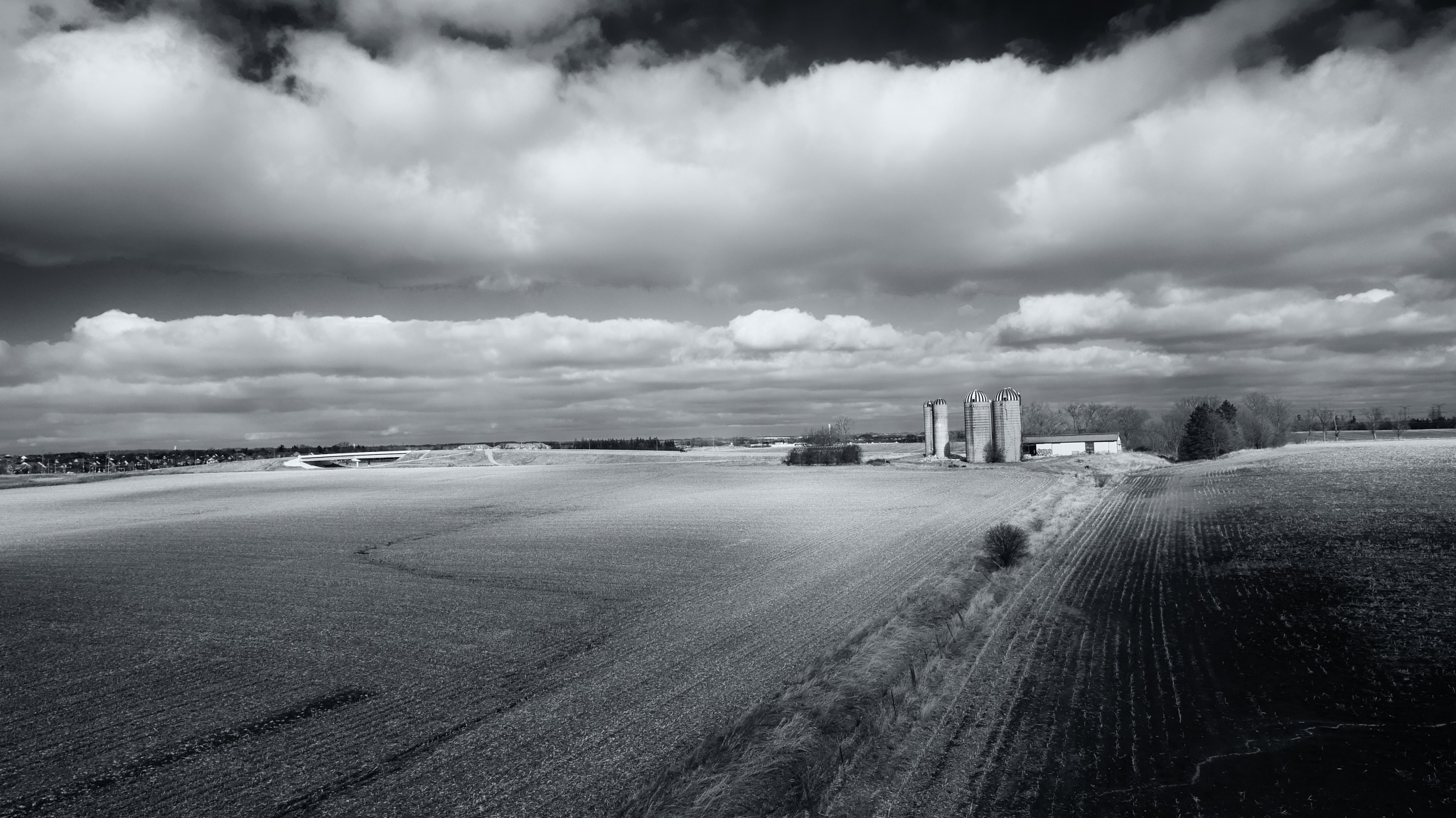 Abandoned Silos by Herb Drummond