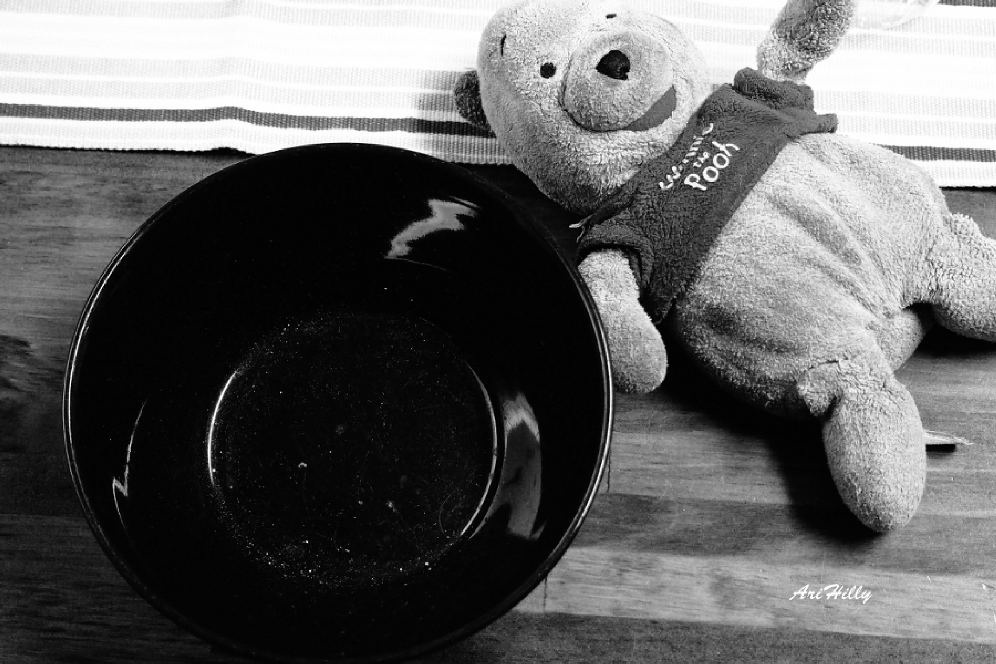 """""""Someone tasted my porridge - and eaten it all"""", said Little Bear by AriHilly"""