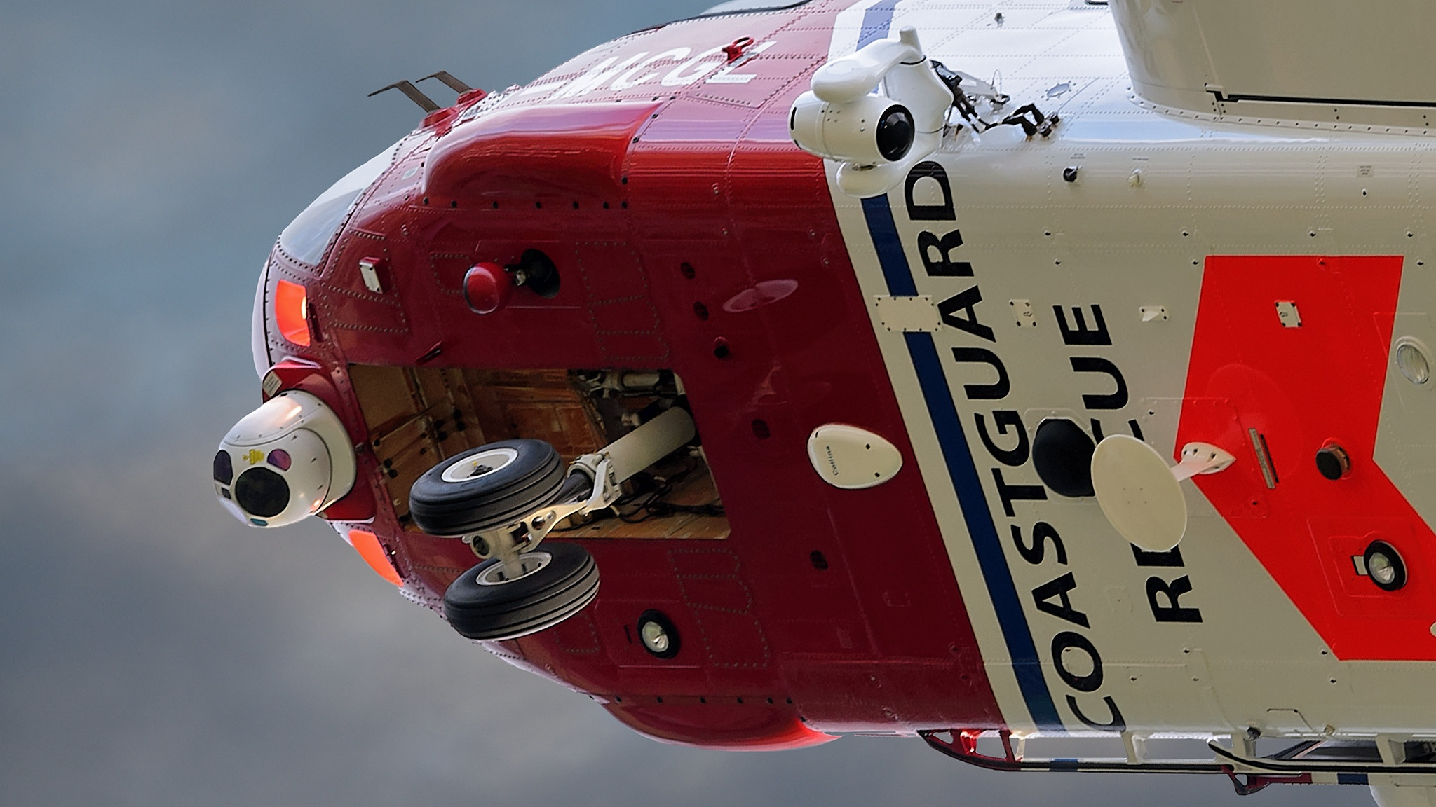 Photo in Vehicle #helicopter #gannet #sikorsky #search and rescue #coastguard