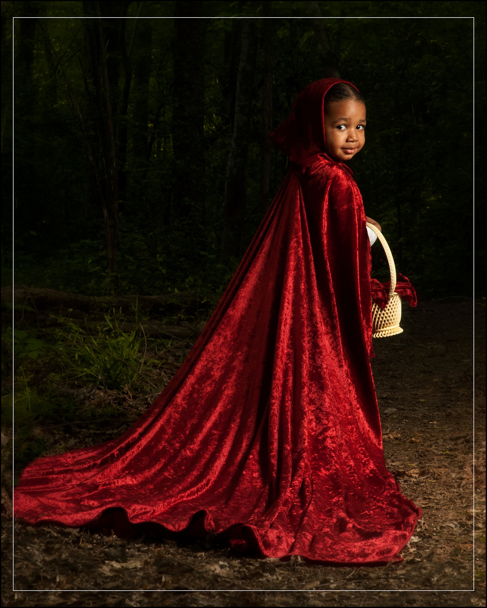 Little Red by  Bernitki Stradford