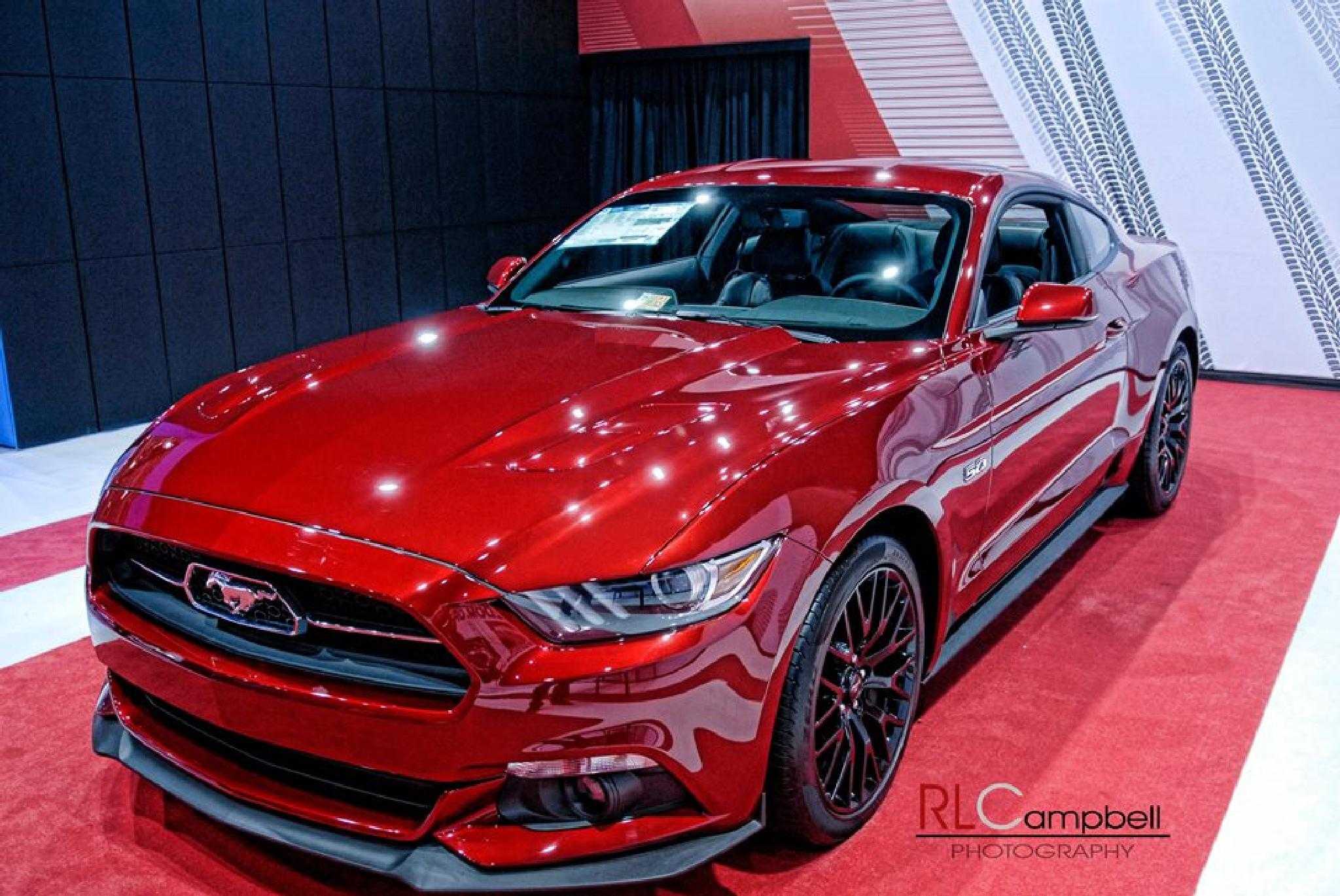 Liquid Red Mustang by rlcampbellphotography